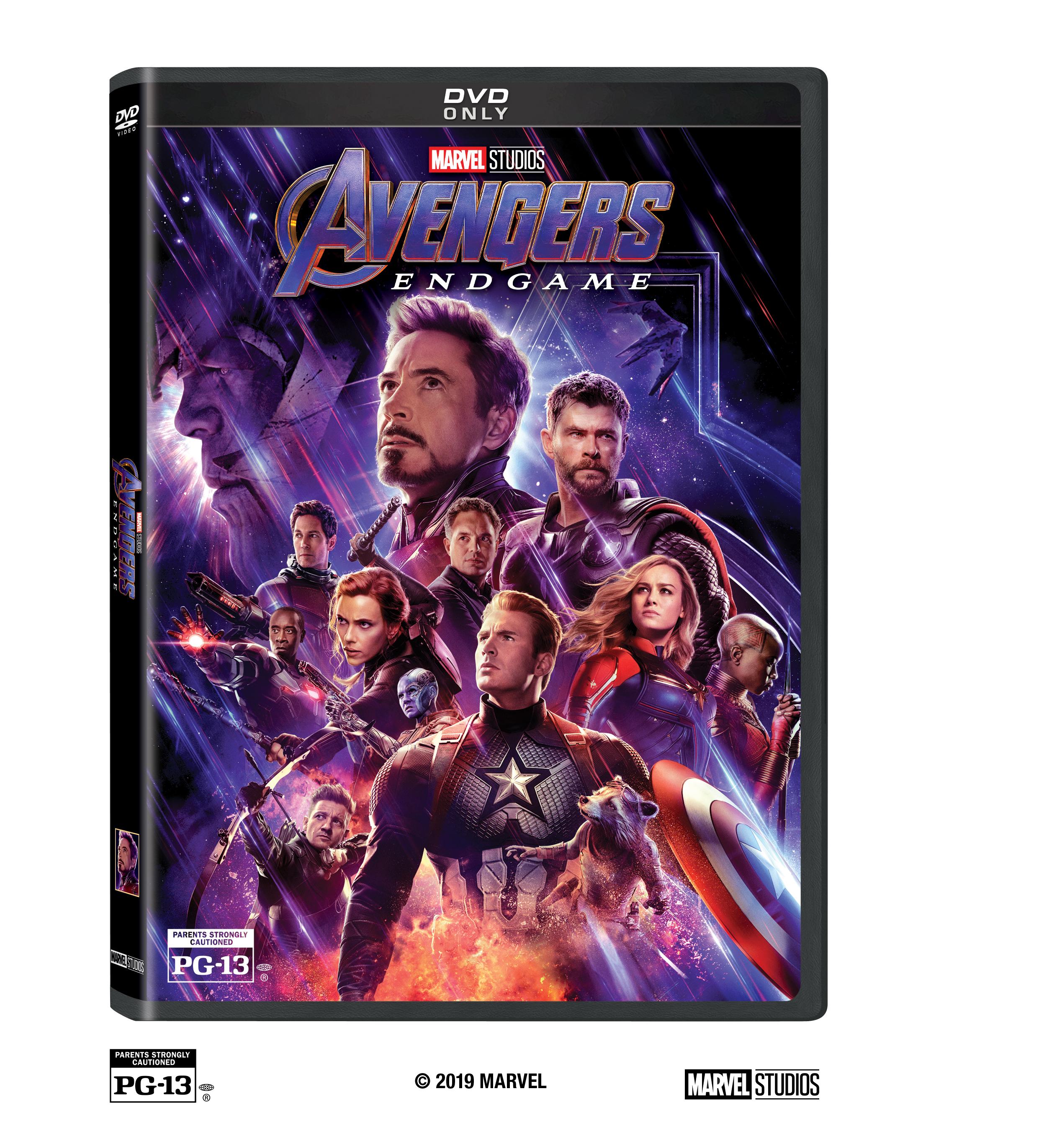 Marvel Studios Avengers: Endgame Releases On Digital July 30 And On Blu Ray Aug 13
