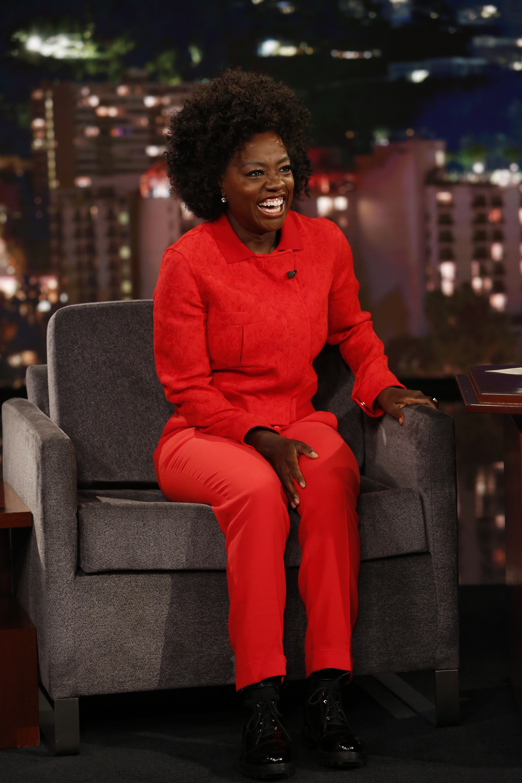 In Case You Missed It: Viola Davis On Jimmy Kimmel Live