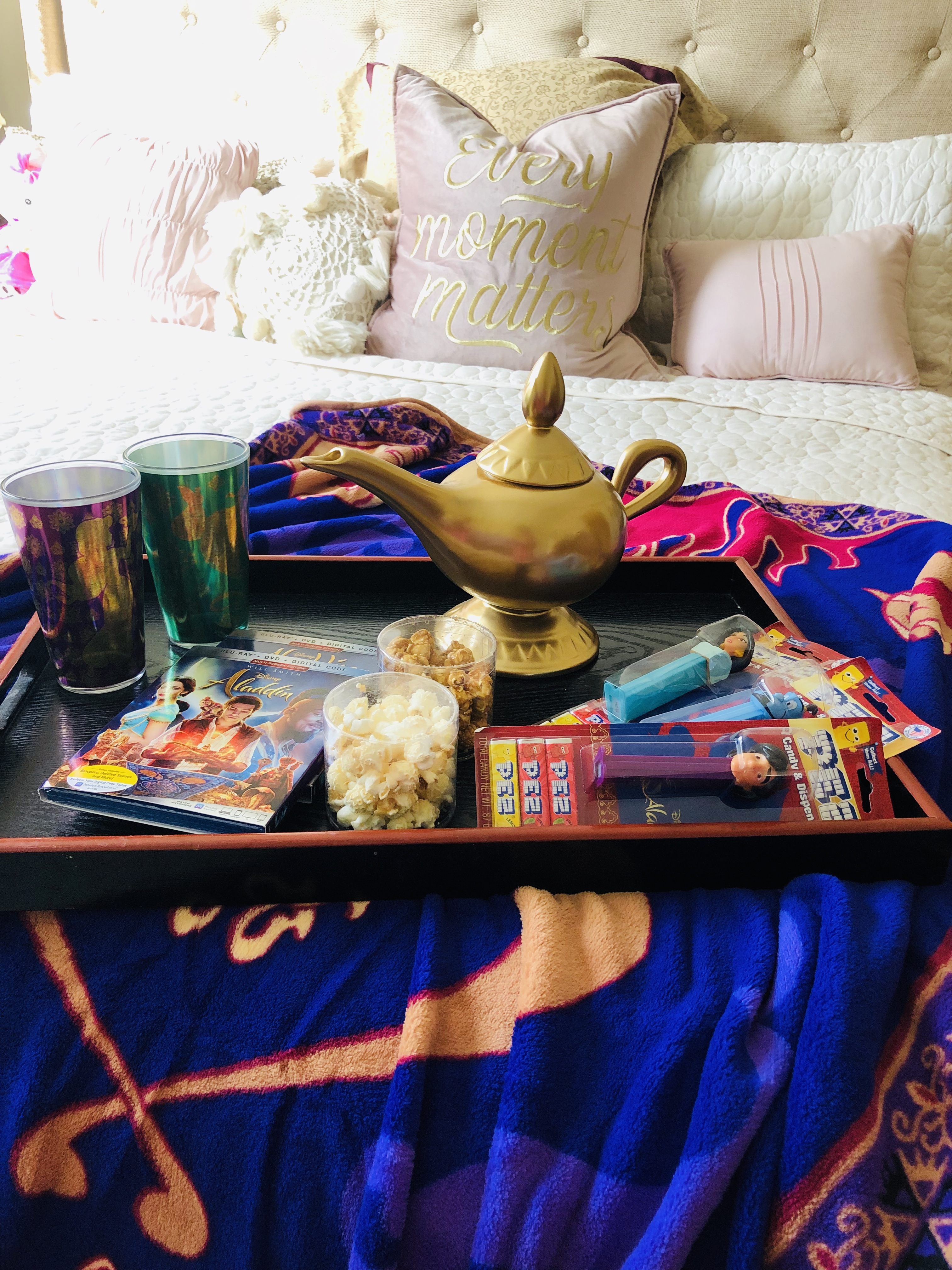 Disney Aladdin Movie Night Goodies