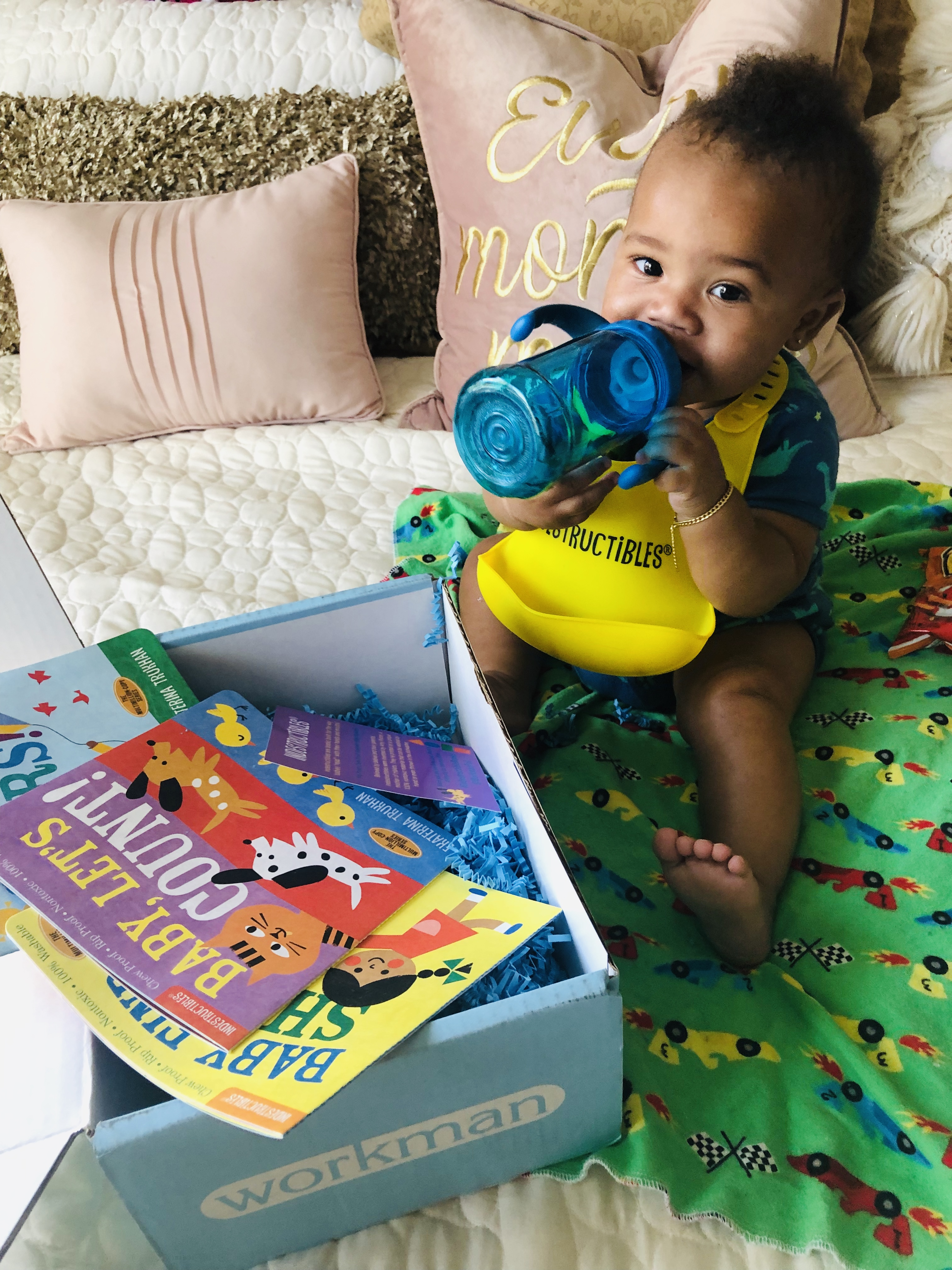 Baby Legend Does His First Unboxing, Indestructibles