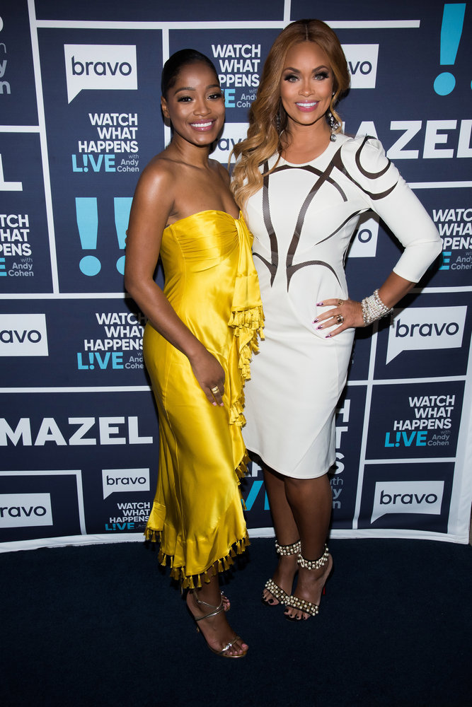 In Case You Missed It: KeKe Palmer and Gizelle Bryant On Watch What Happens Live