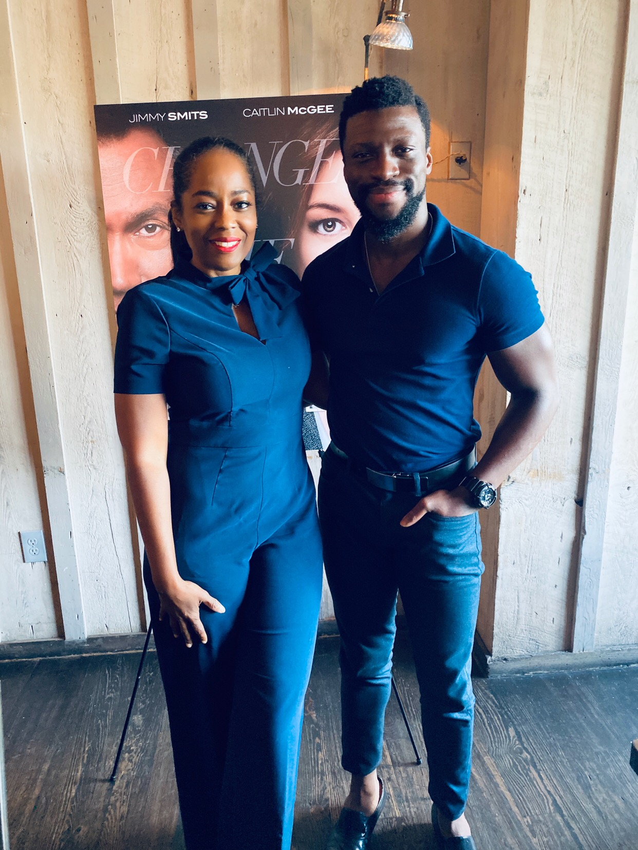 Luncheon With Actor Michael Luwoye From NBC's  Bluff City Law