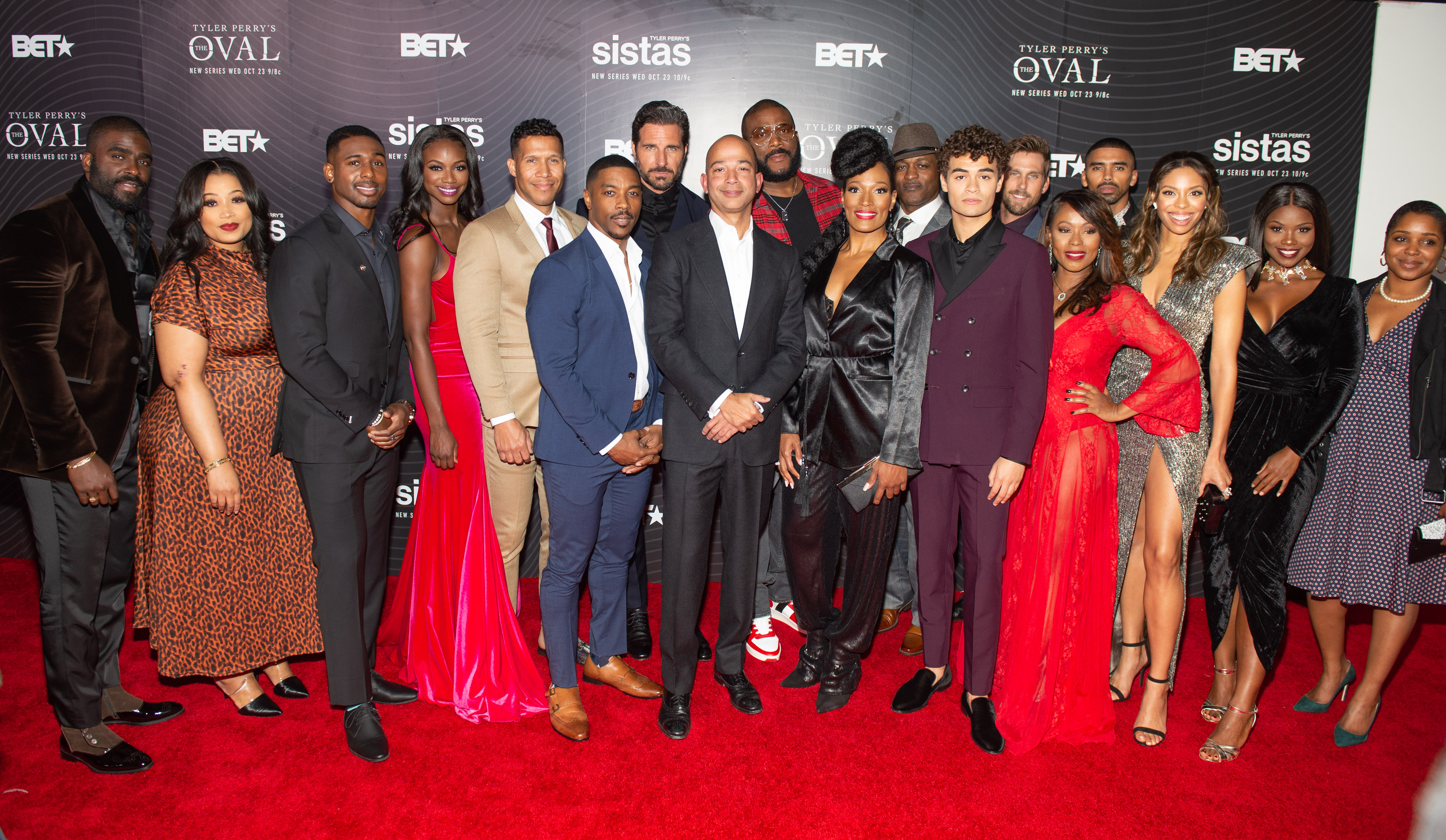 BET & Tyler Perry's New Original Series The Oval And Sistas Premiere Party In ATL