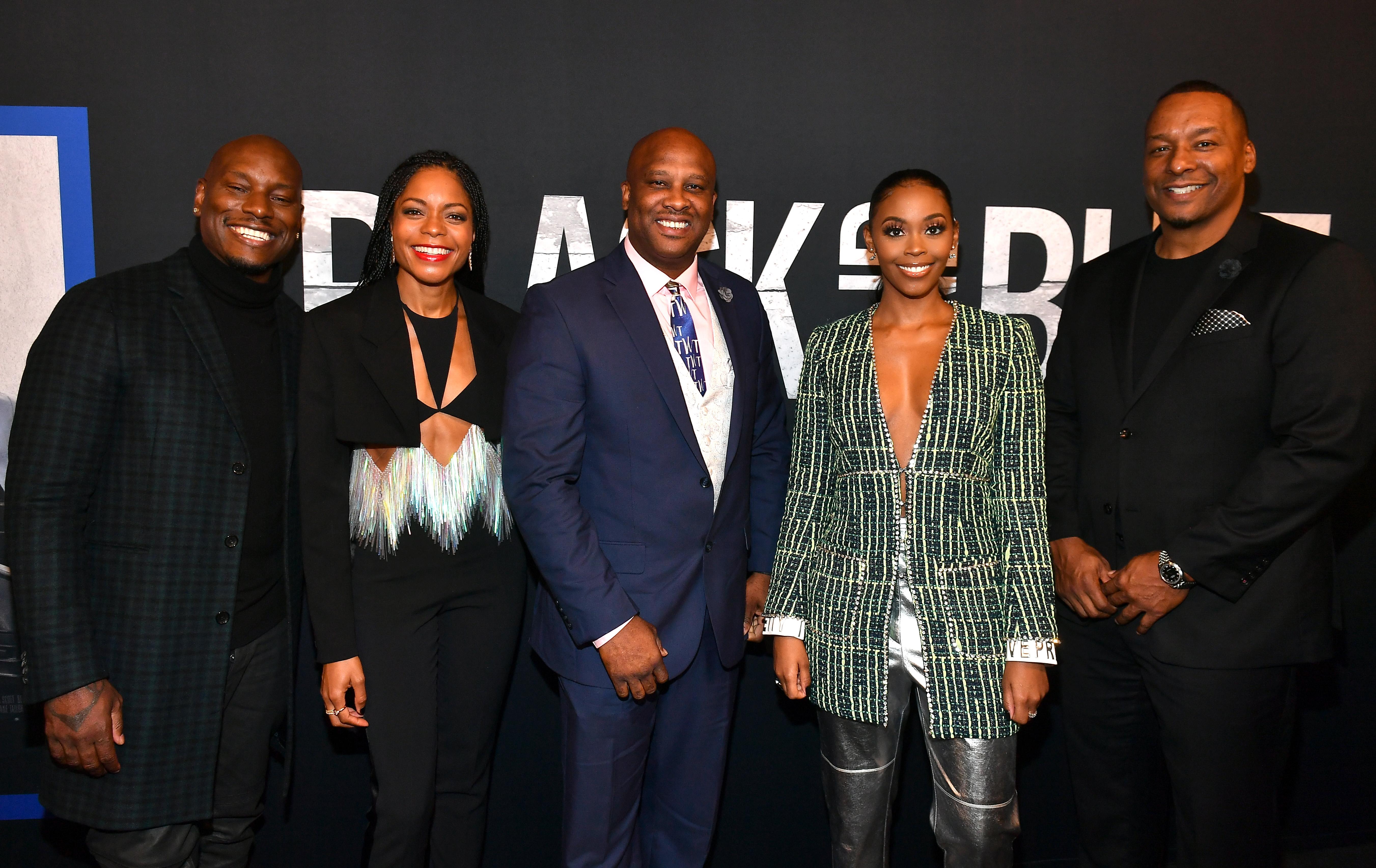 Black And Blue Movie Premiere In Atlanta