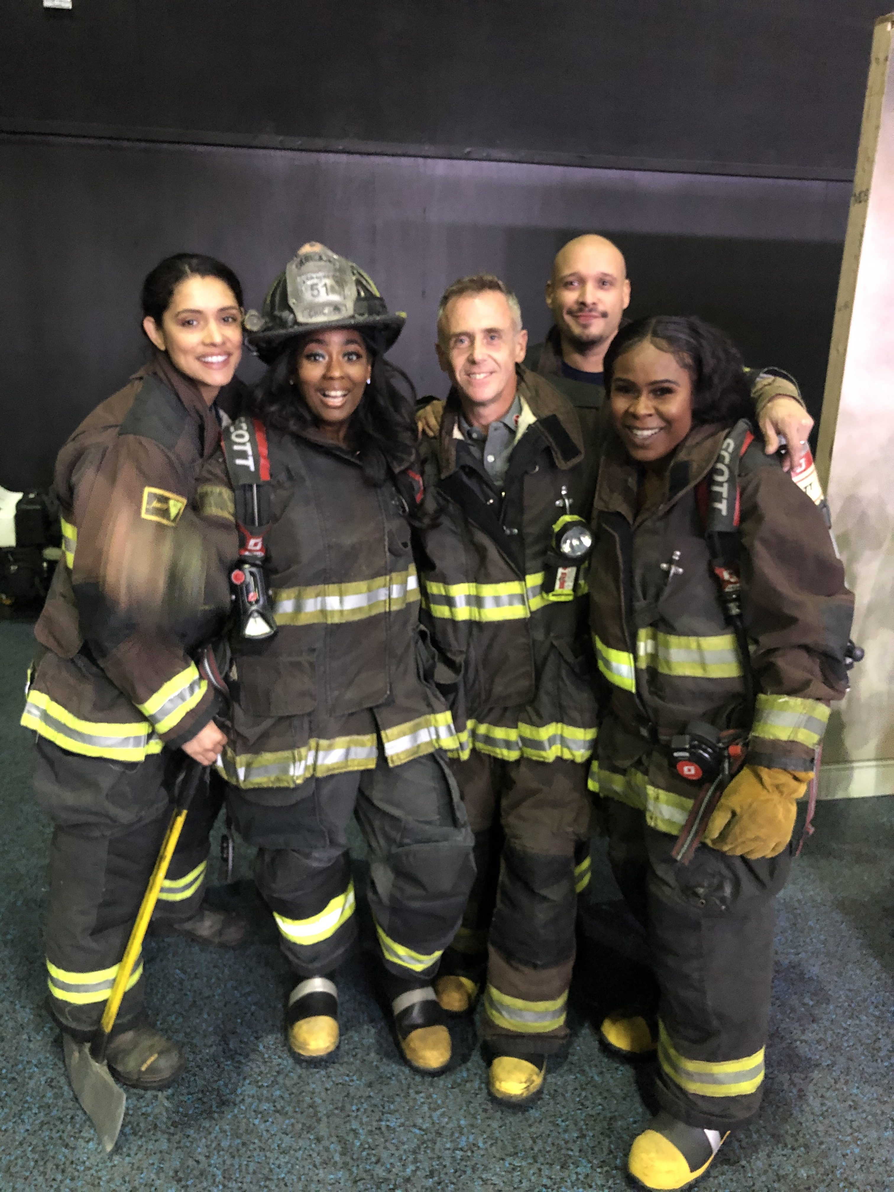 I Spent An Afternoon As A Fireman With The Cast Of Chicago Fire!
