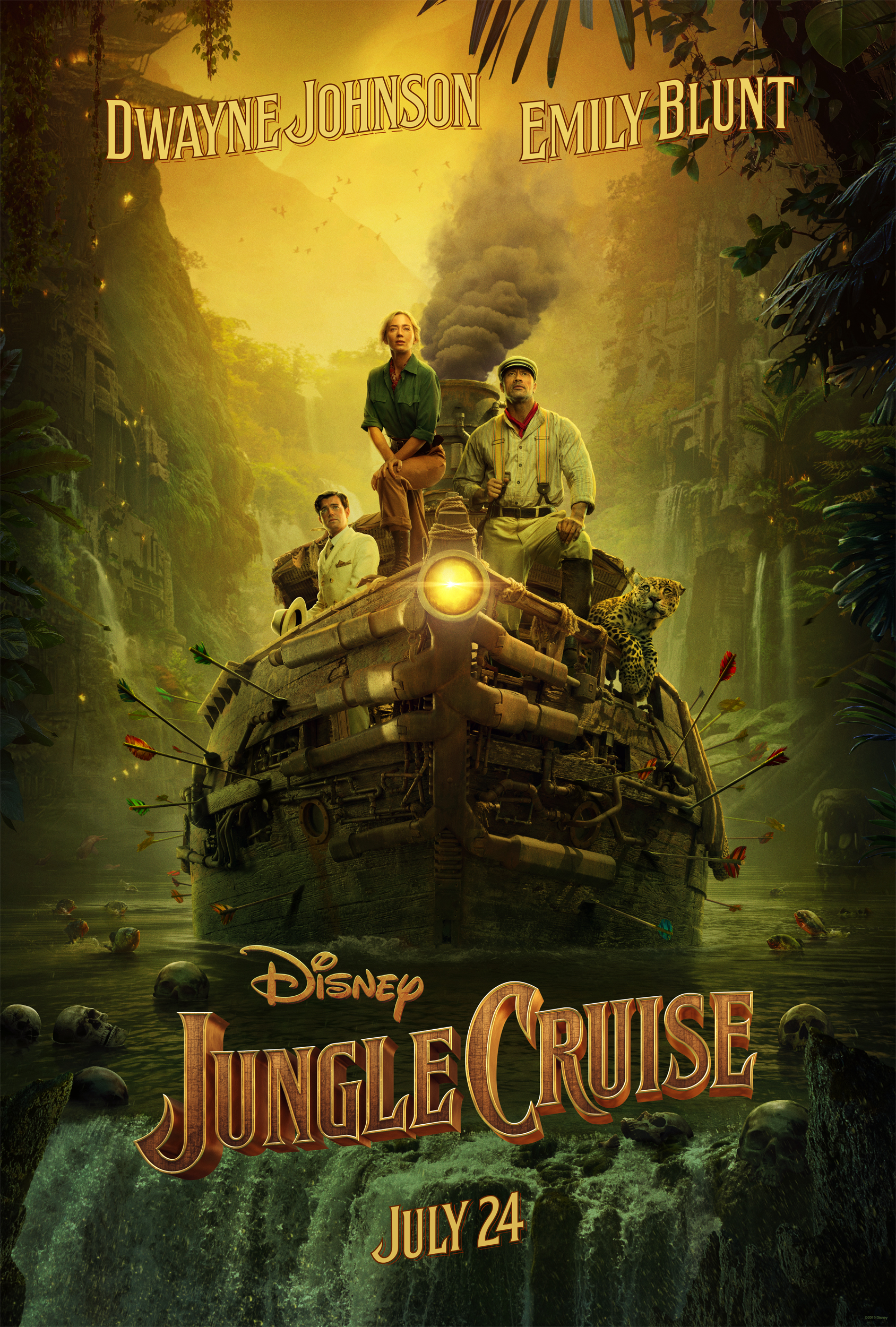 First Look: Jungle Cruise Teaser Trailer & Poster