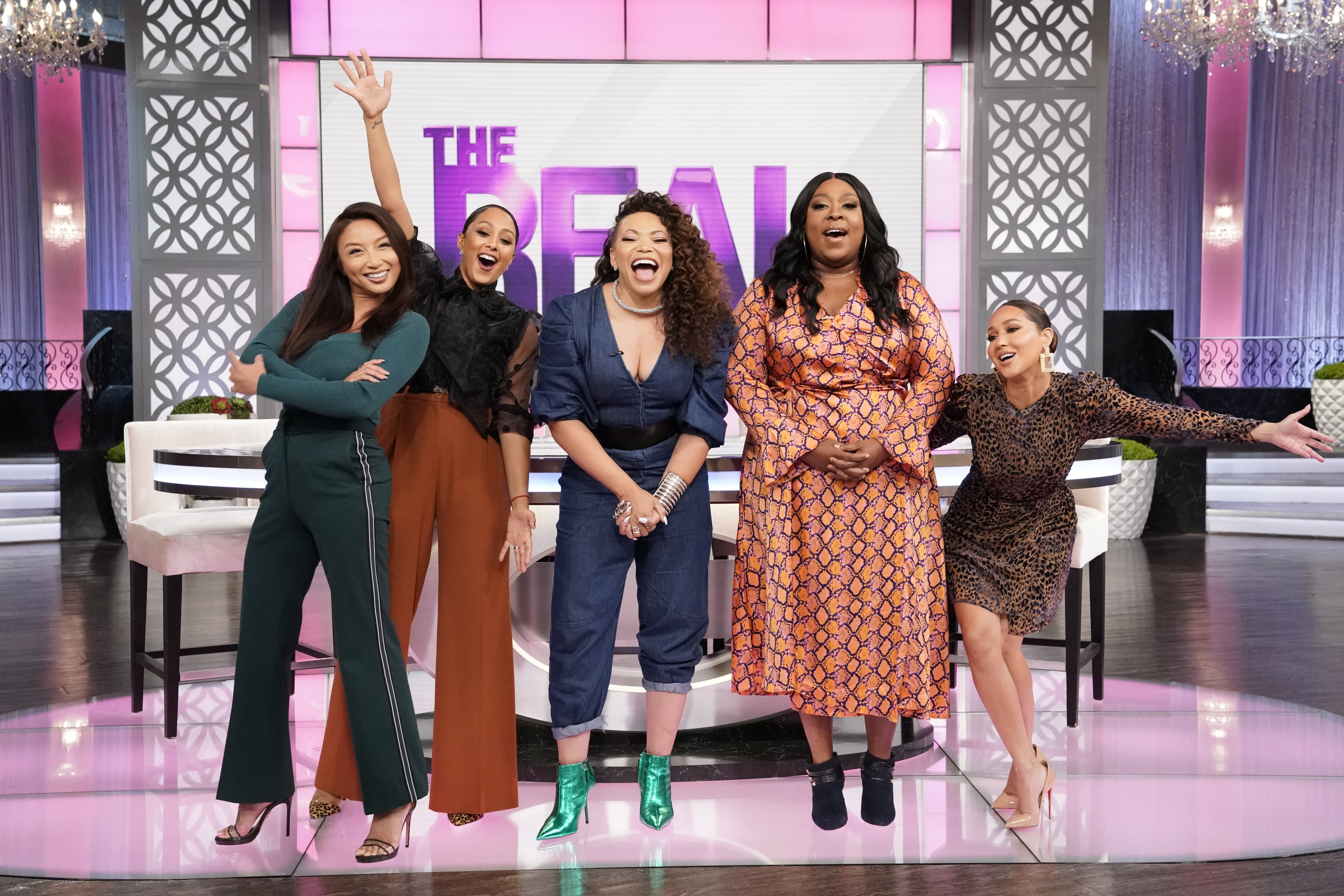 THE REAL Welcomes Actor Michael Ealy, Guest Co-Host Tisha Campbell And Loni Love Has a Big Announcement