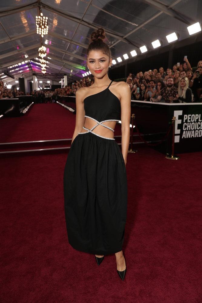 Wardrobe Breakdown: Zendaya Coleman At People's Choice Awards