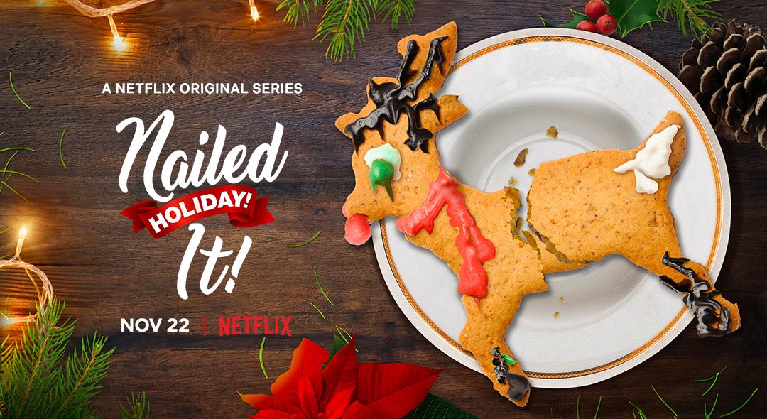 First Look: Nailed It! Holiday! Season 2