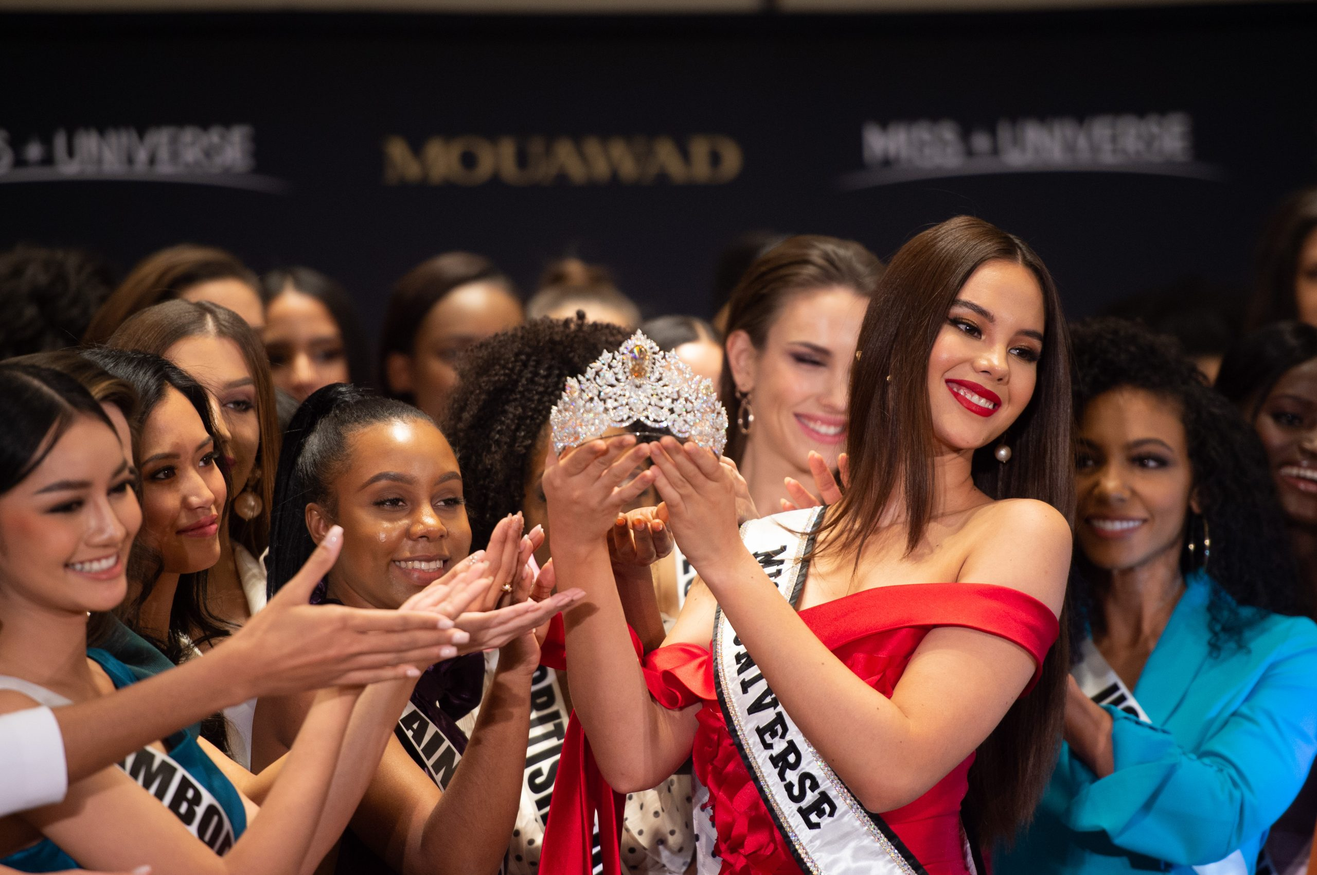 Miss Universe + Mouawad Unveiled A New Crown Today In Atlanta