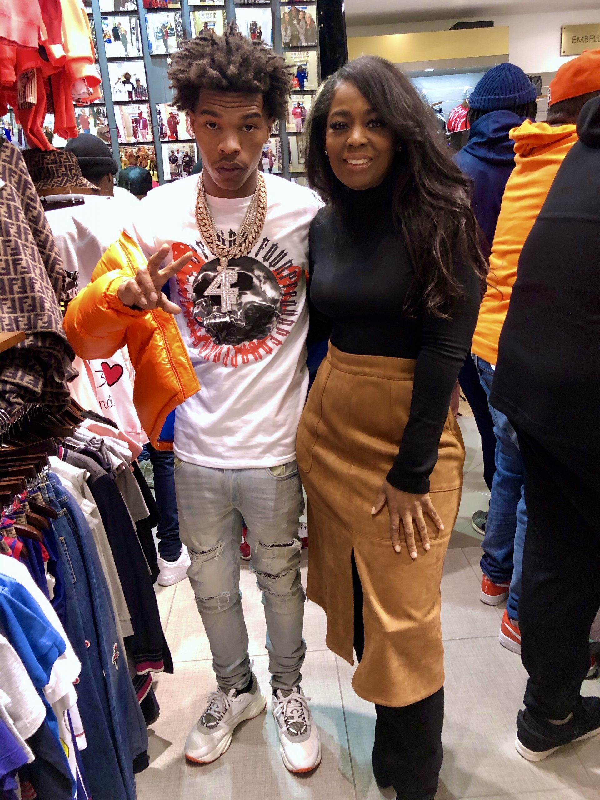 Rapper Lil Baby Launches Clothing Line At Pure Atlanta