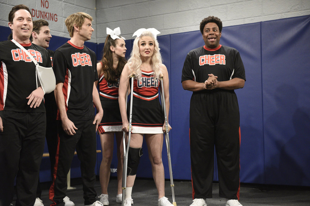 In Case You Missed It: Netflix 'Cheer' Spoofed On SNL