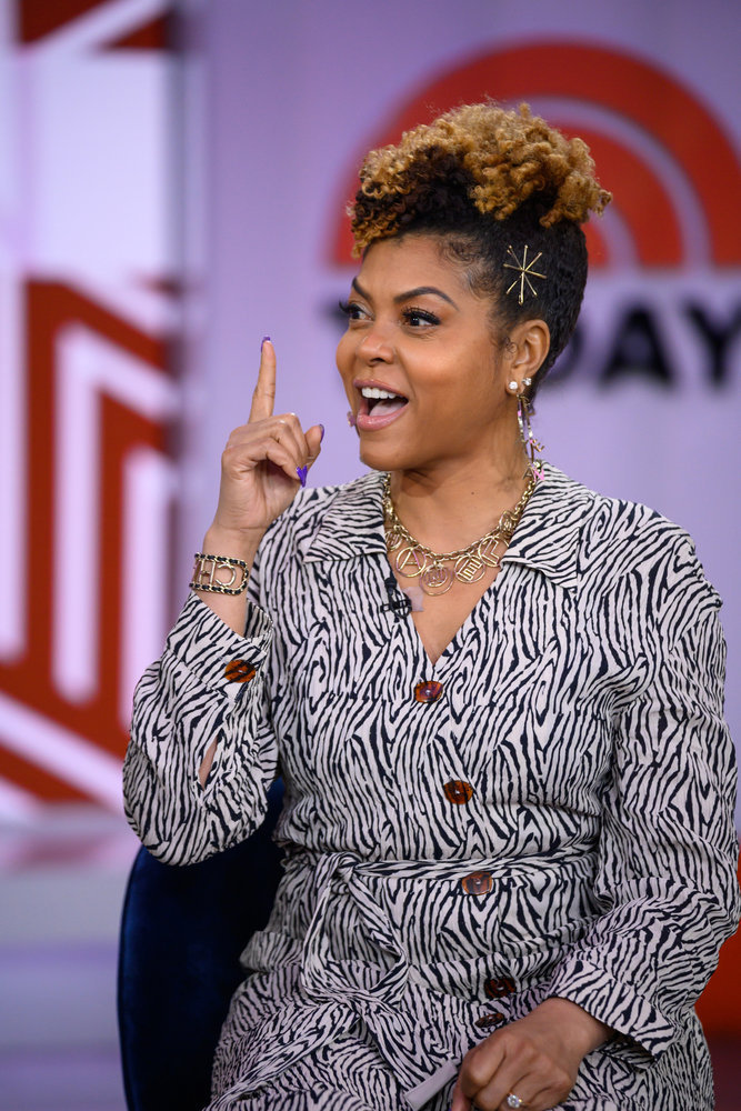Taraji P. Henson Talks About Saying Goodbye To Empire, Her New Hair Care Line On 'Today'