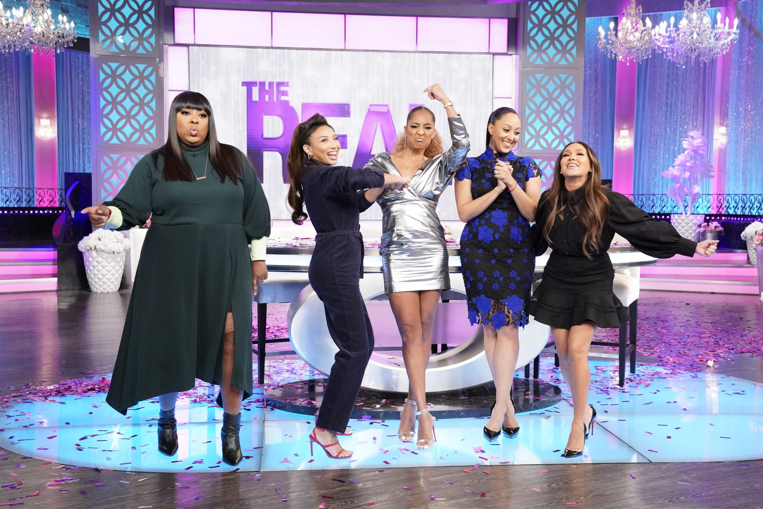 Amanda Seales Makes Her Debut As THE REAL's New Co-Host And Mixed-ish's Arica Himmel Stops By!