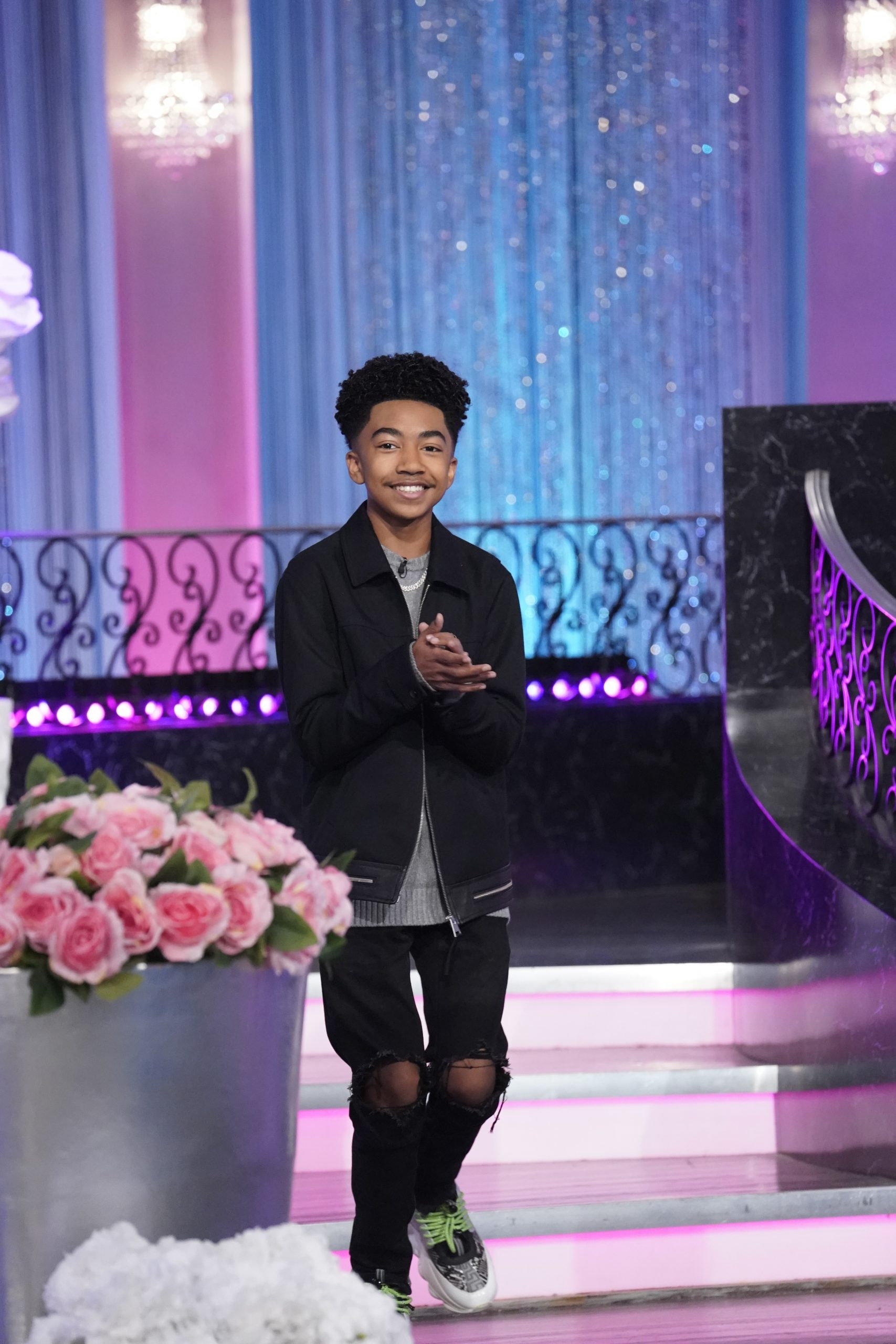 """Miles Brown From """"black-ish"""" Remembers Meeting Kobe Bryant On The Real"""