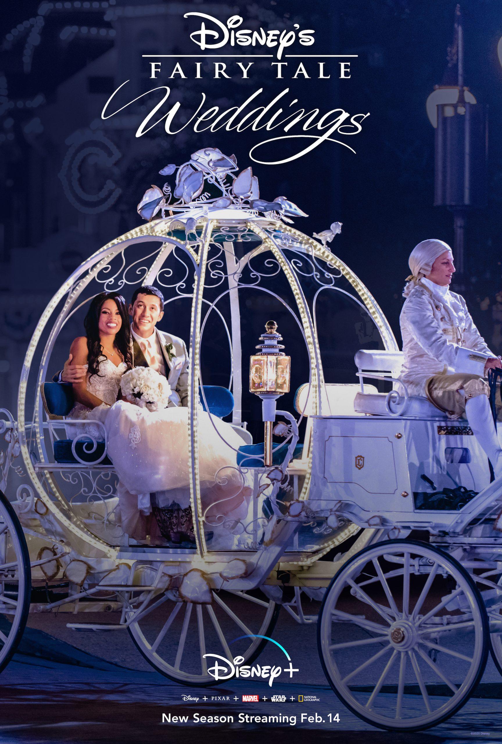"Disney+ Celebrates Valentine's Day with ""Disney's Fairy Tale Weddings"""
