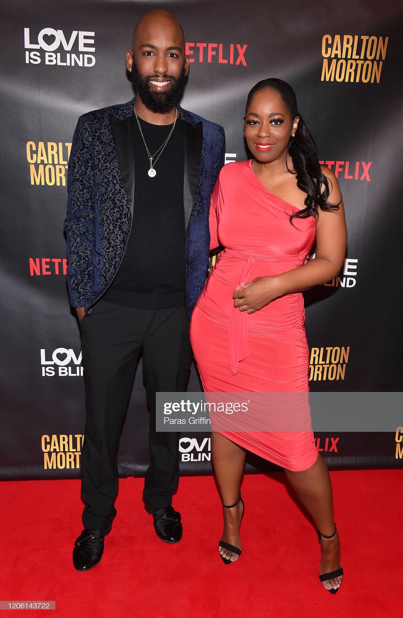 Netflix 'Love Is Blind' Viewing Party With Cast Member Cartlon Morton