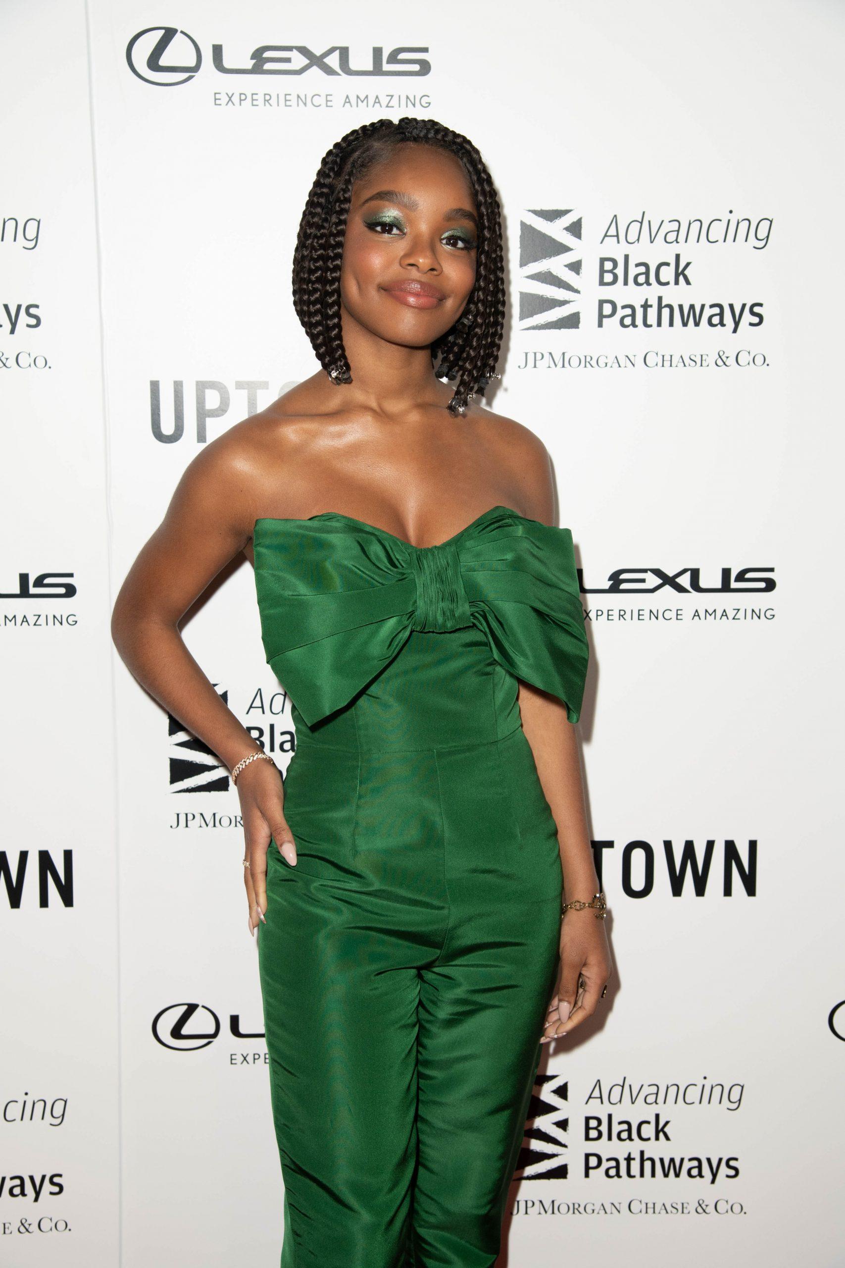 Wardrobe Breakdown: Marsai Martin At Lexus Uptown Honors Hollywood
