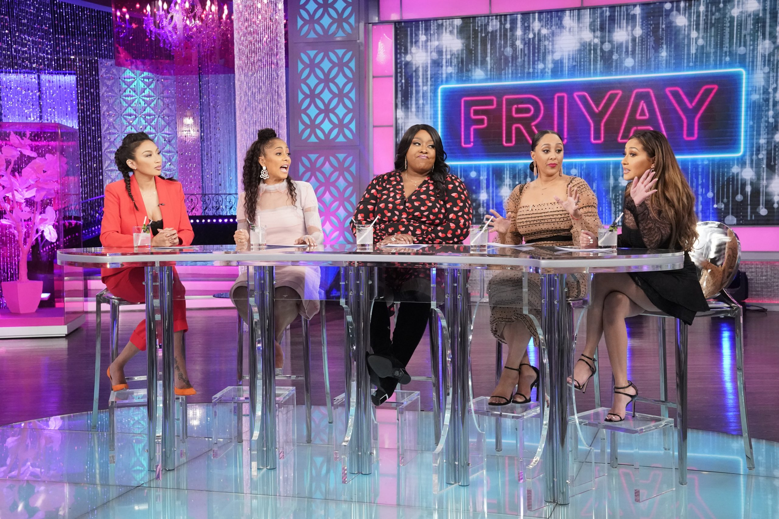 The Real: Can A Cheater Change? The Ladies Discuss RHOA's Cynthia Bailey's Comment On Fiance Mike Hill's Past