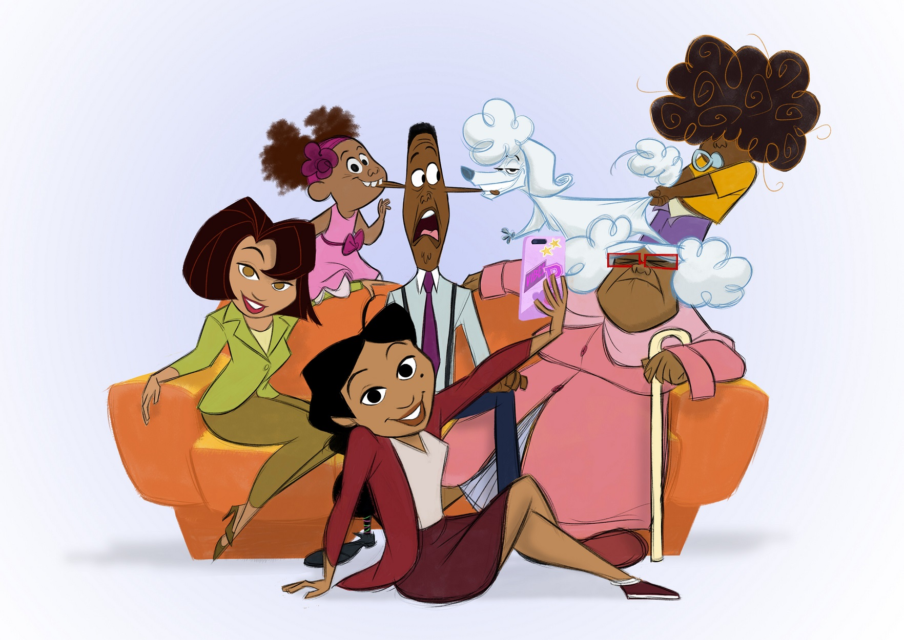 """Disney + Orders 'The Proud Family: Louder And Prouder"""", The Long-Awaited Revival Of The Groundbreaking Animated Series"""