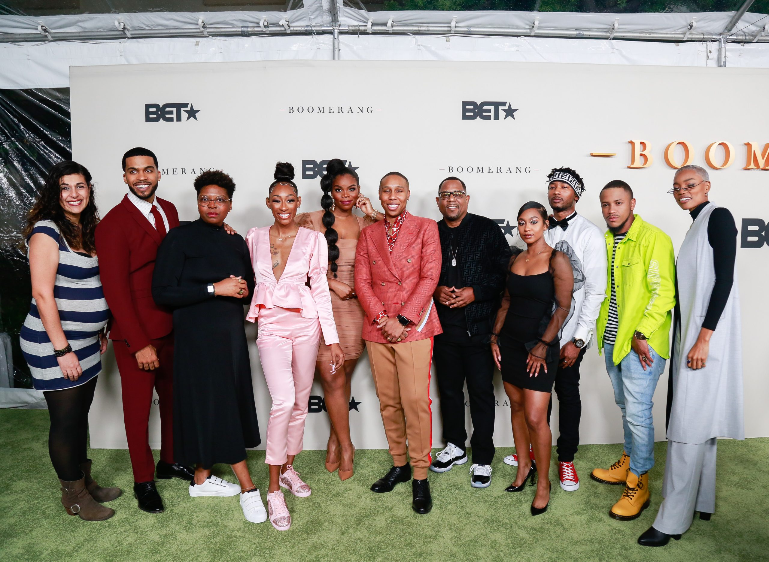 """PICS: Lena Waithe, Martin Lawrence,  Lance Gross & More Attend """"BOOMERANG"""" on BET S2 Premiere"""