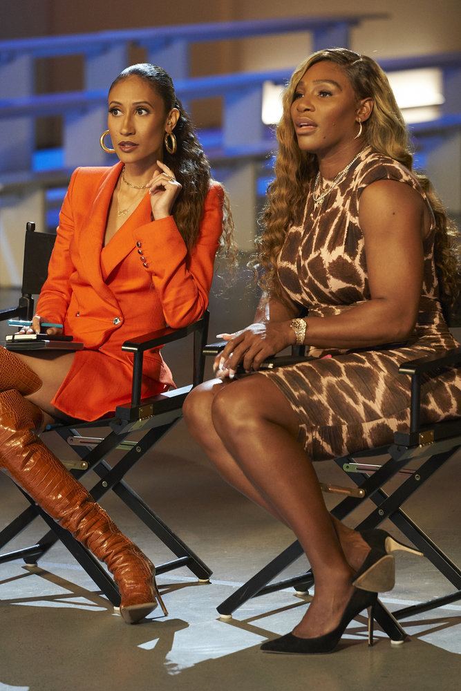 Serena Williams Makes Her Debut On Bravo's 'Project Runway'