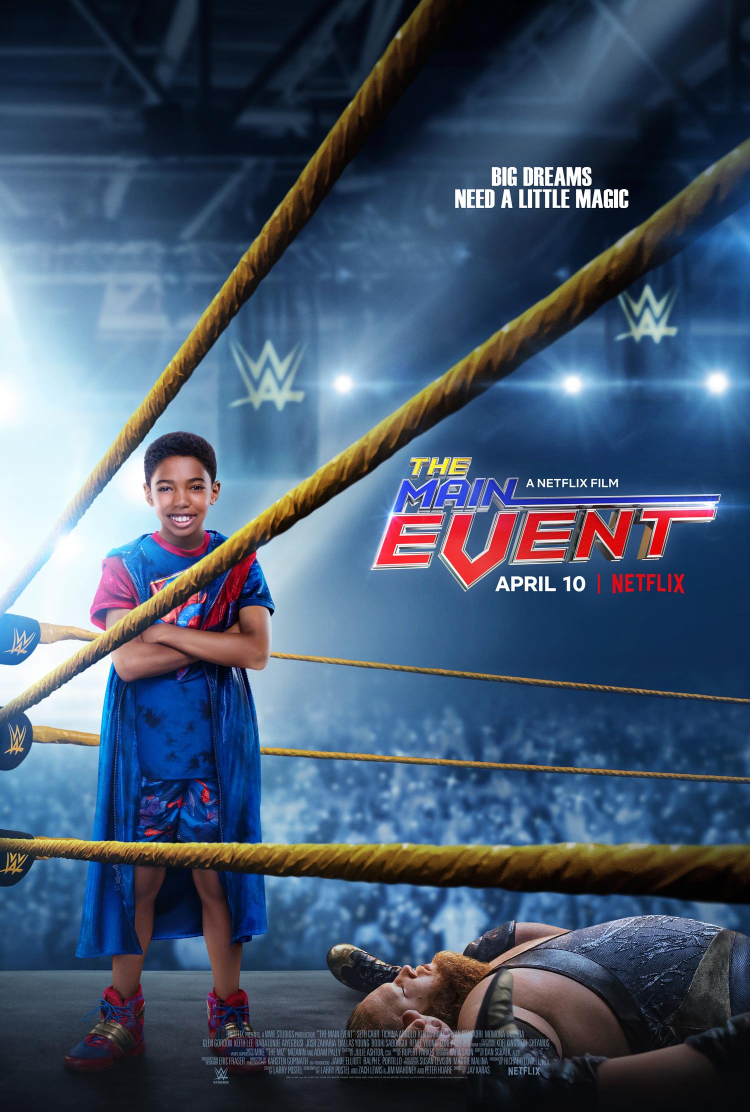 New Film: The Main Event Starring Seth Carr, Tichina Arnold, Adam Pally, and Ken Marino
