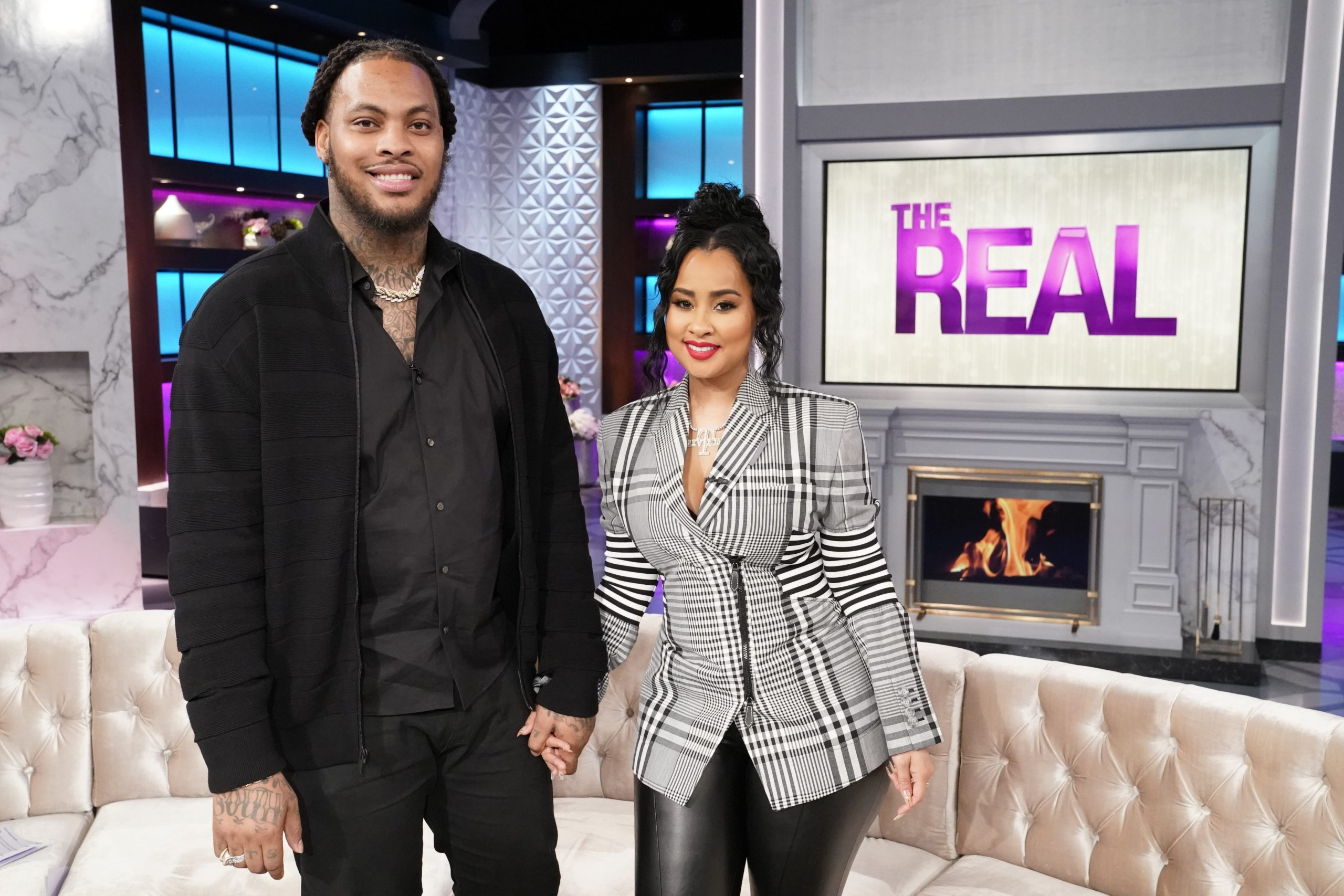 Wacka Flocka And Tammy Rivera Stop By The Real, Waka Wants To Be A Better Example For His Community