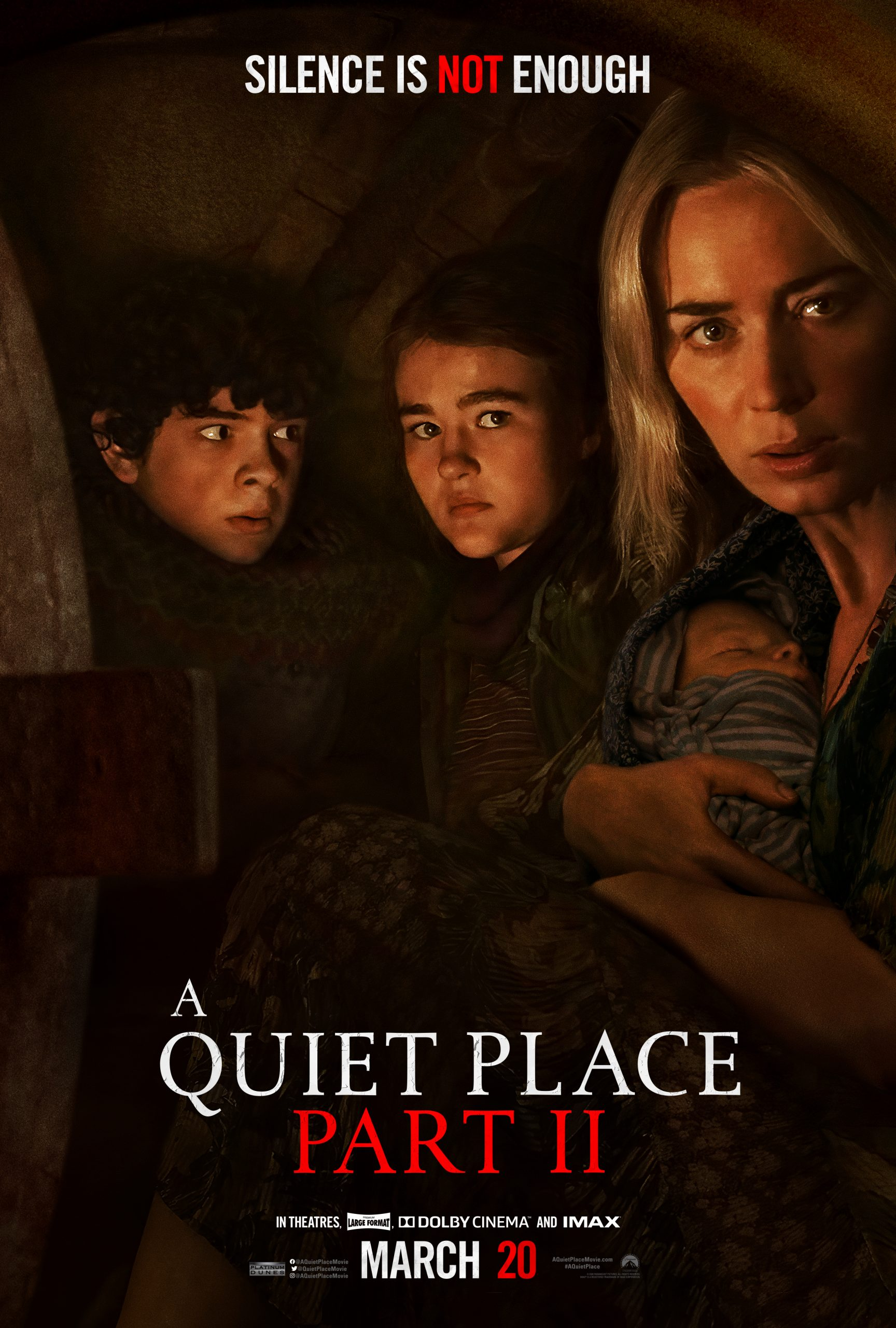 New Movie: A Quiet Place II Starring Emily Blunt