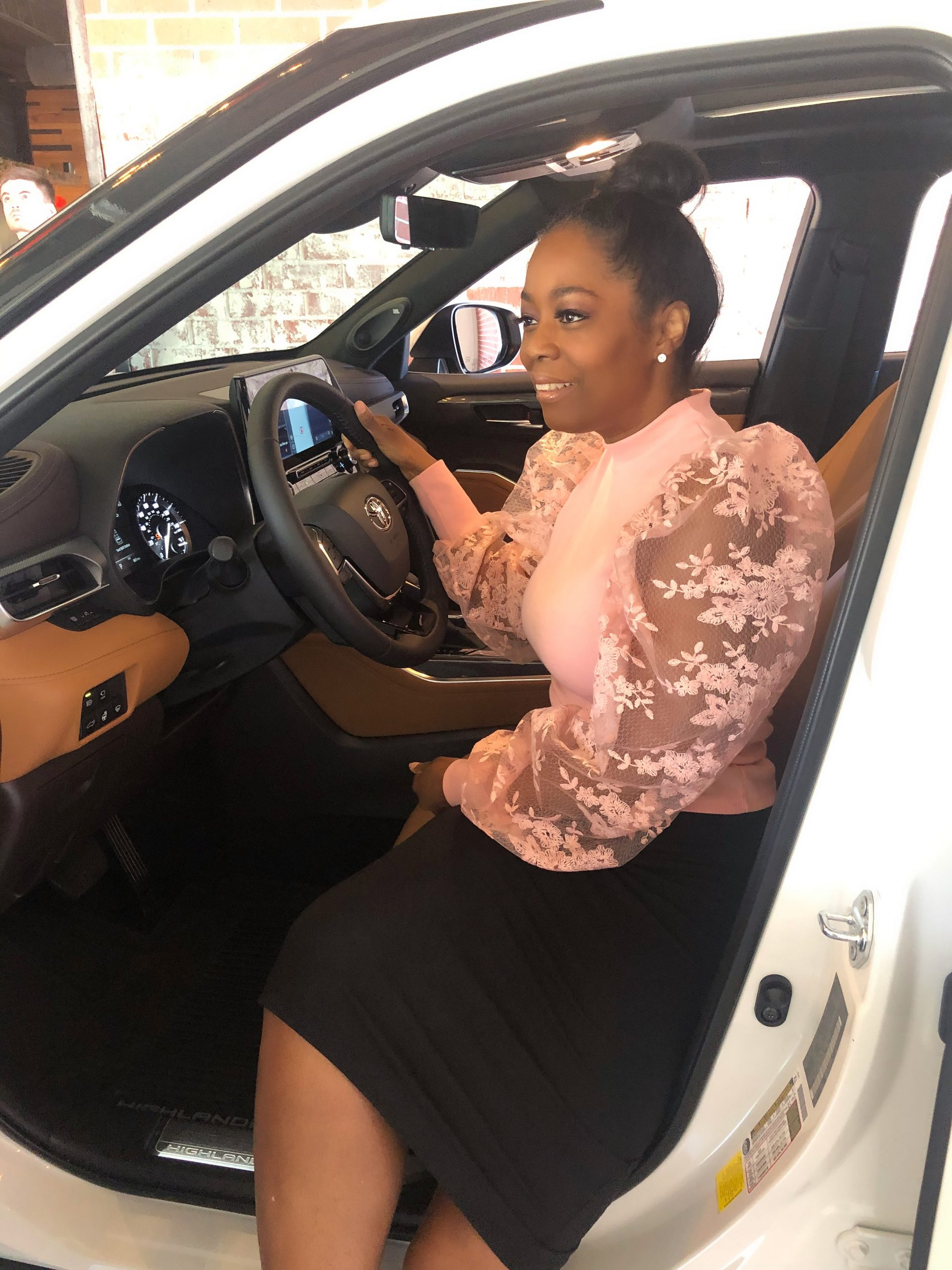 Toyota Exclusive Dine And Drive Luncheon And Experience With The 2020 Highlander