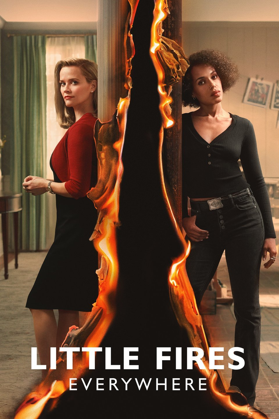 New Show: LITTLE FIRES EVERYWHERE Starring Kerry Washington And Resse Witherspoon