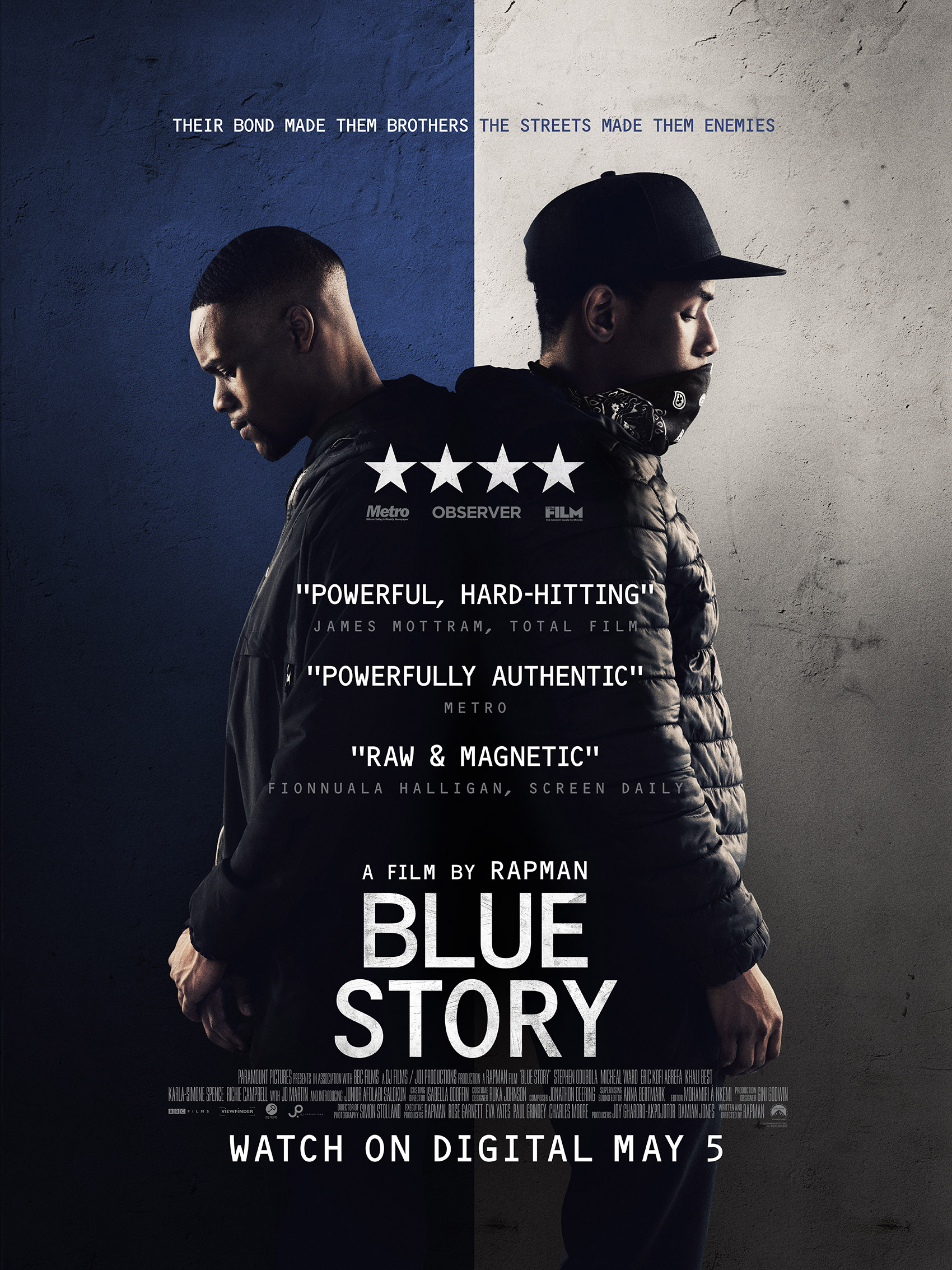 New Film: Blue Story Starring Stephen Odubola, Micheal Ward