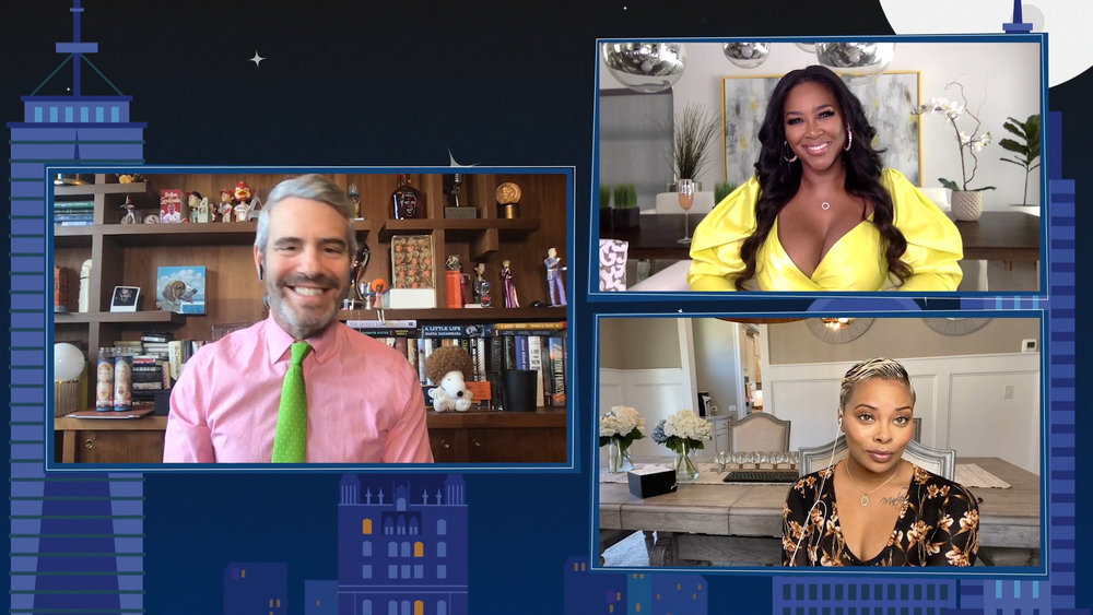 In Case You Missed It: Kenya Moore & Eva Marcille On Watch What Happens Live