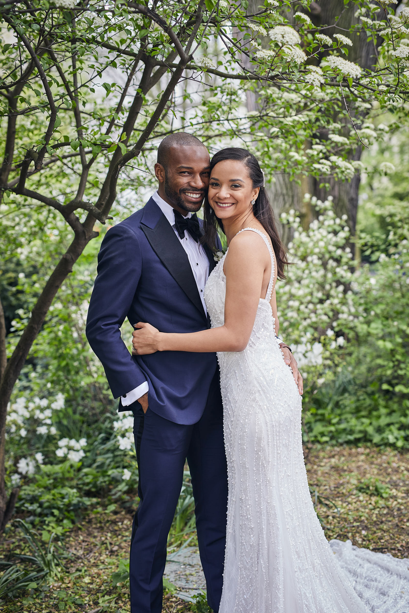 Tamron Hall Officiates The First-Ever 'Tamron Hall' Virtual Wedding  For A Harlem, New York Couple On Today's 'Tamron Hall'