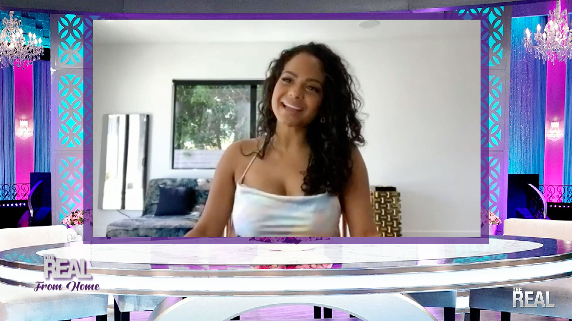 The Real From Home: Christina Milian Talks About Other People's Focus On Her Body After Baby
