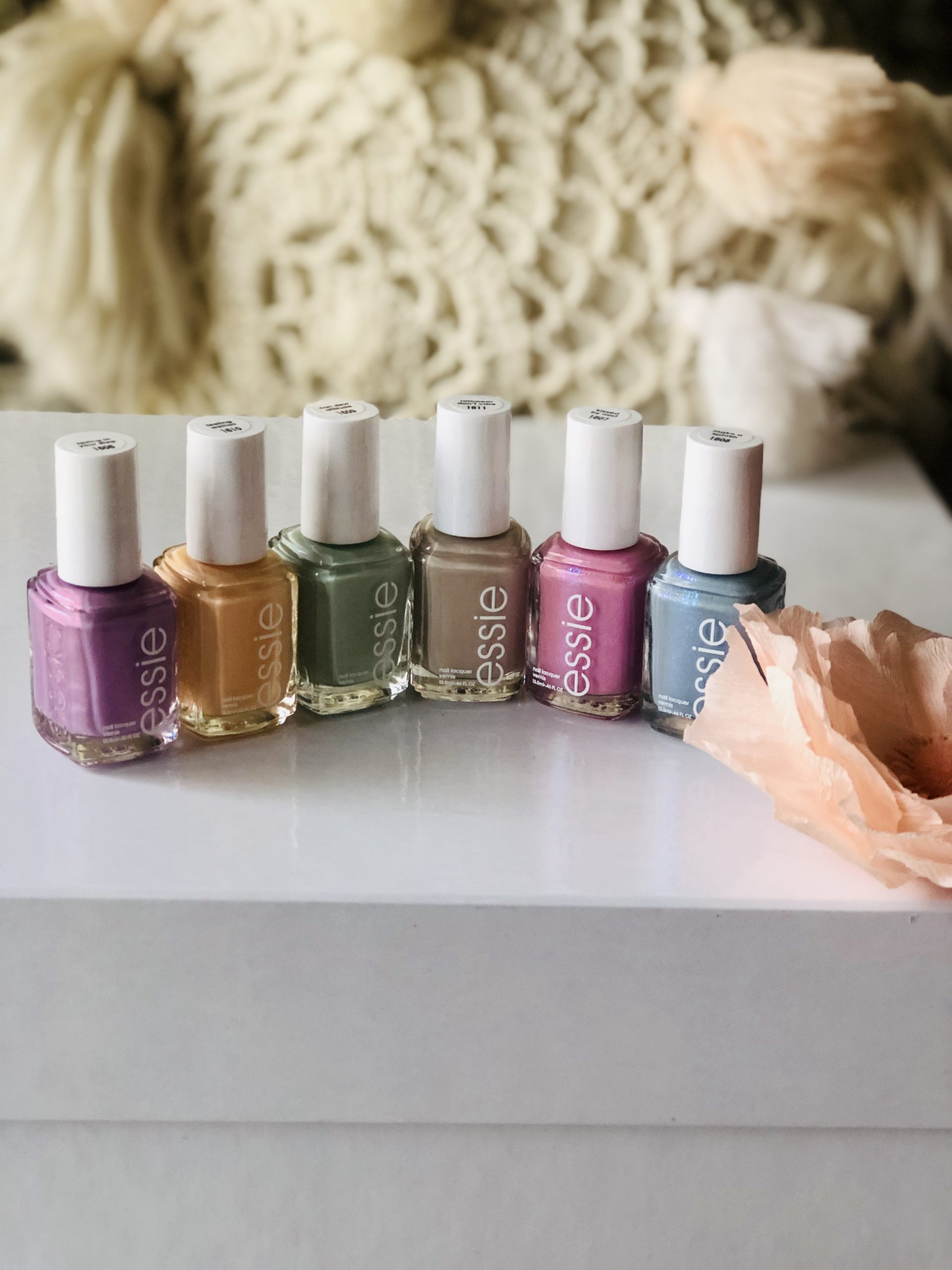 Get The Look: Essie Limited Edition Spring 2020 Collection