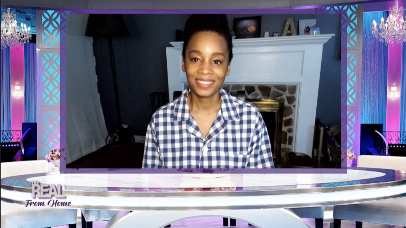 The Real From Home: Adrienne Is Thrilled When She's Compared To Her Mother, And Anika Noni Rose Visit!