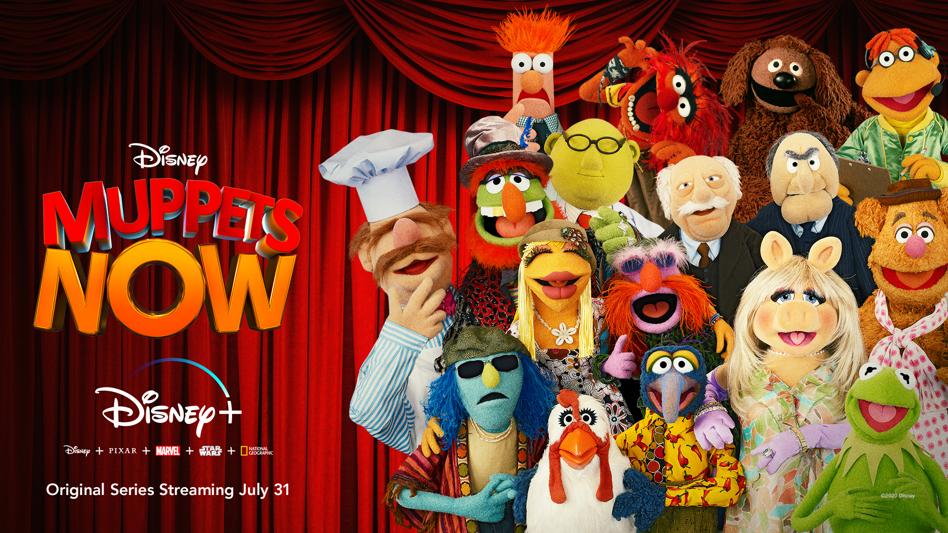 """The Pig's Out of the Bag! """"Muppets Now"""" to Premiere July 31 on Disney+"""