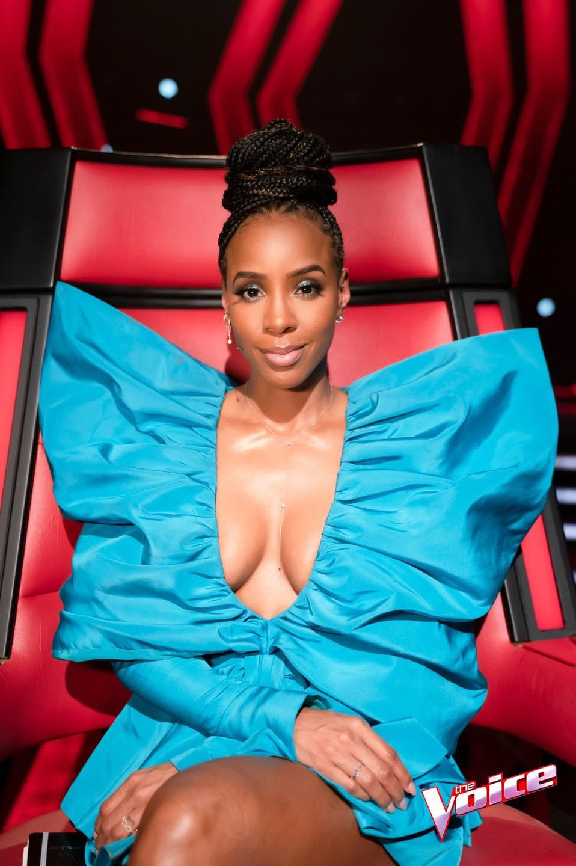 Wardrobe Breakdown: Kelly Rowland On The Voice Australia