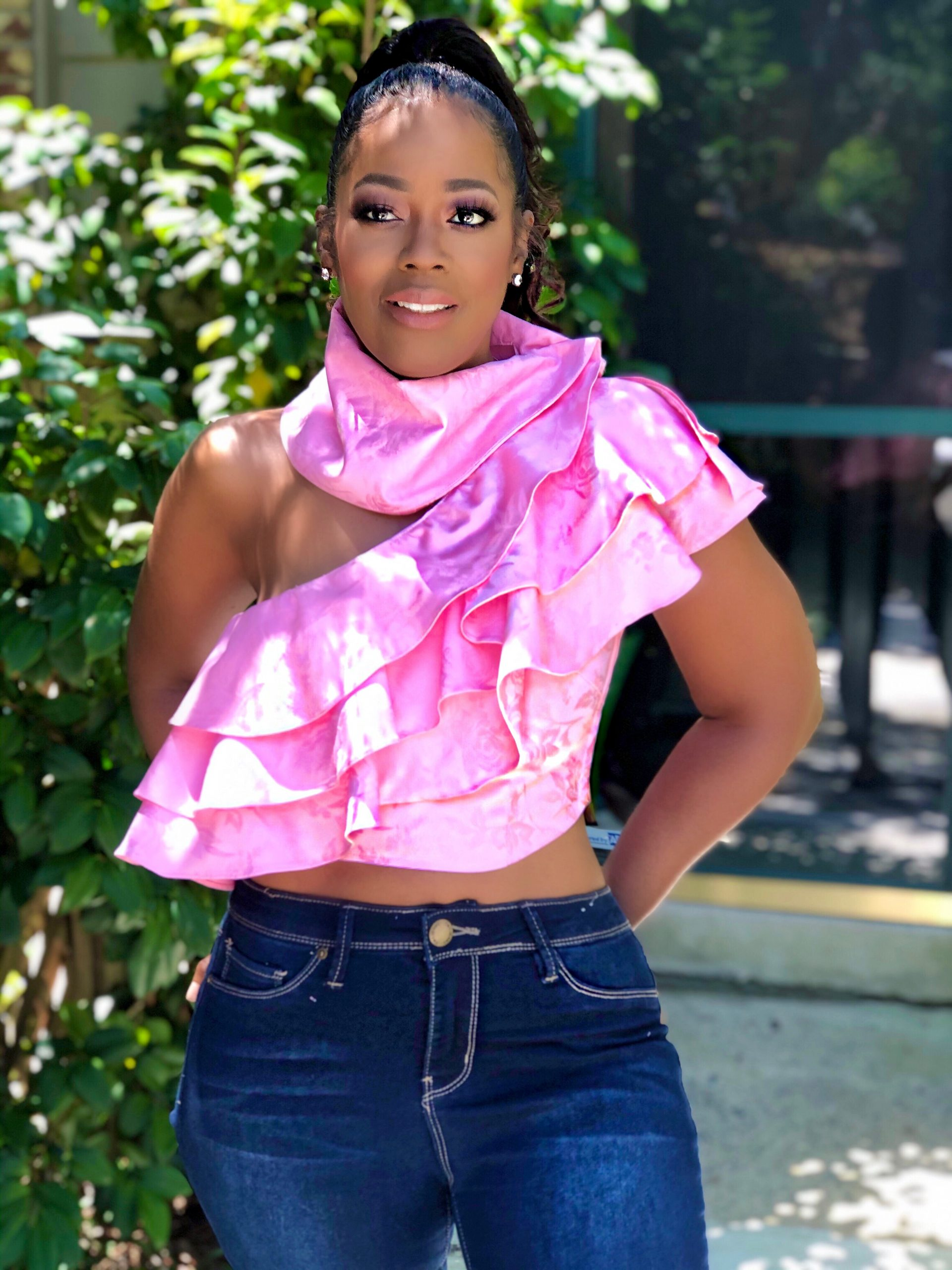 My Style: Cleah Couture Custom Top