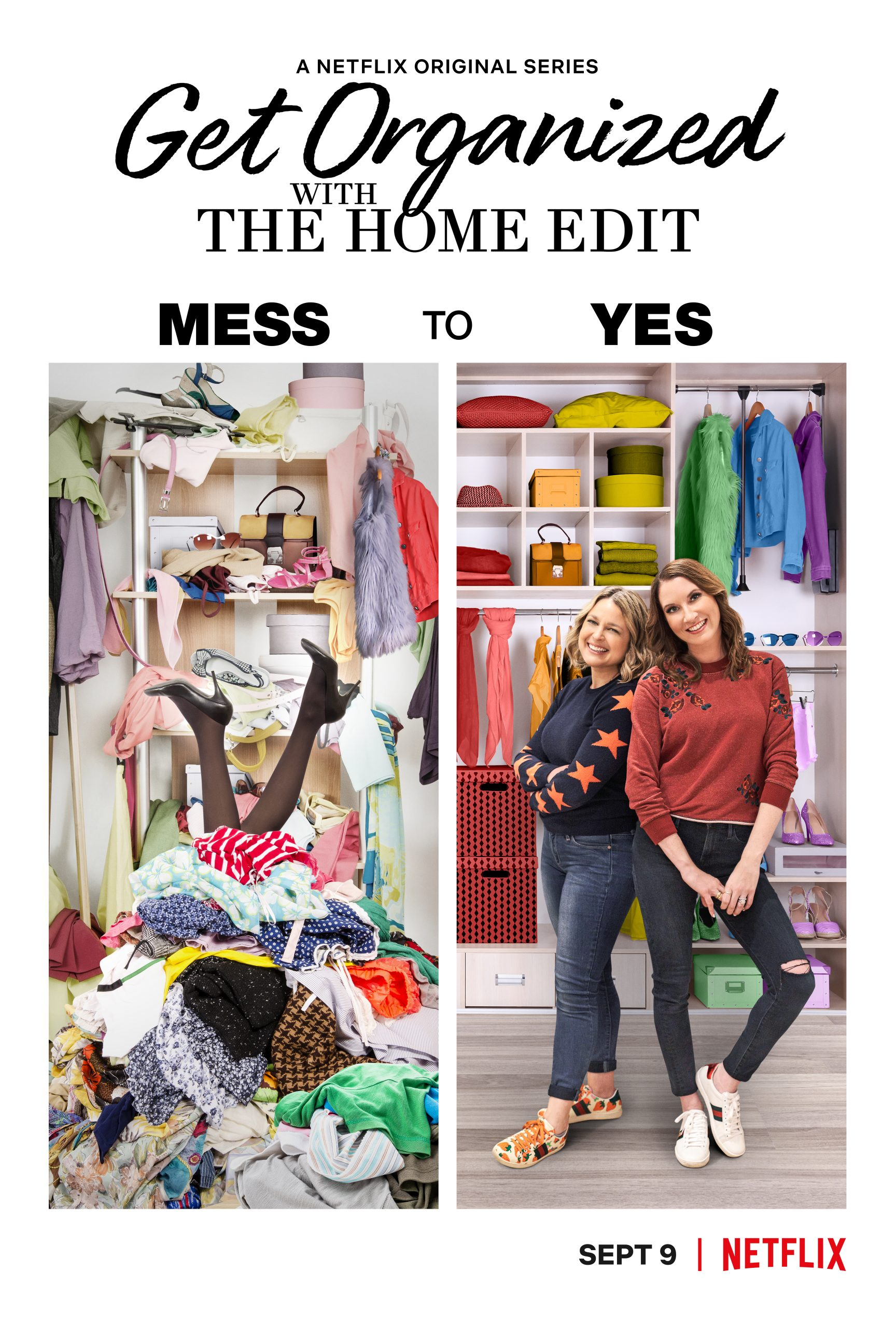 NETFLIX TRAILER DEBUT: Get Organized With The Home Edit
