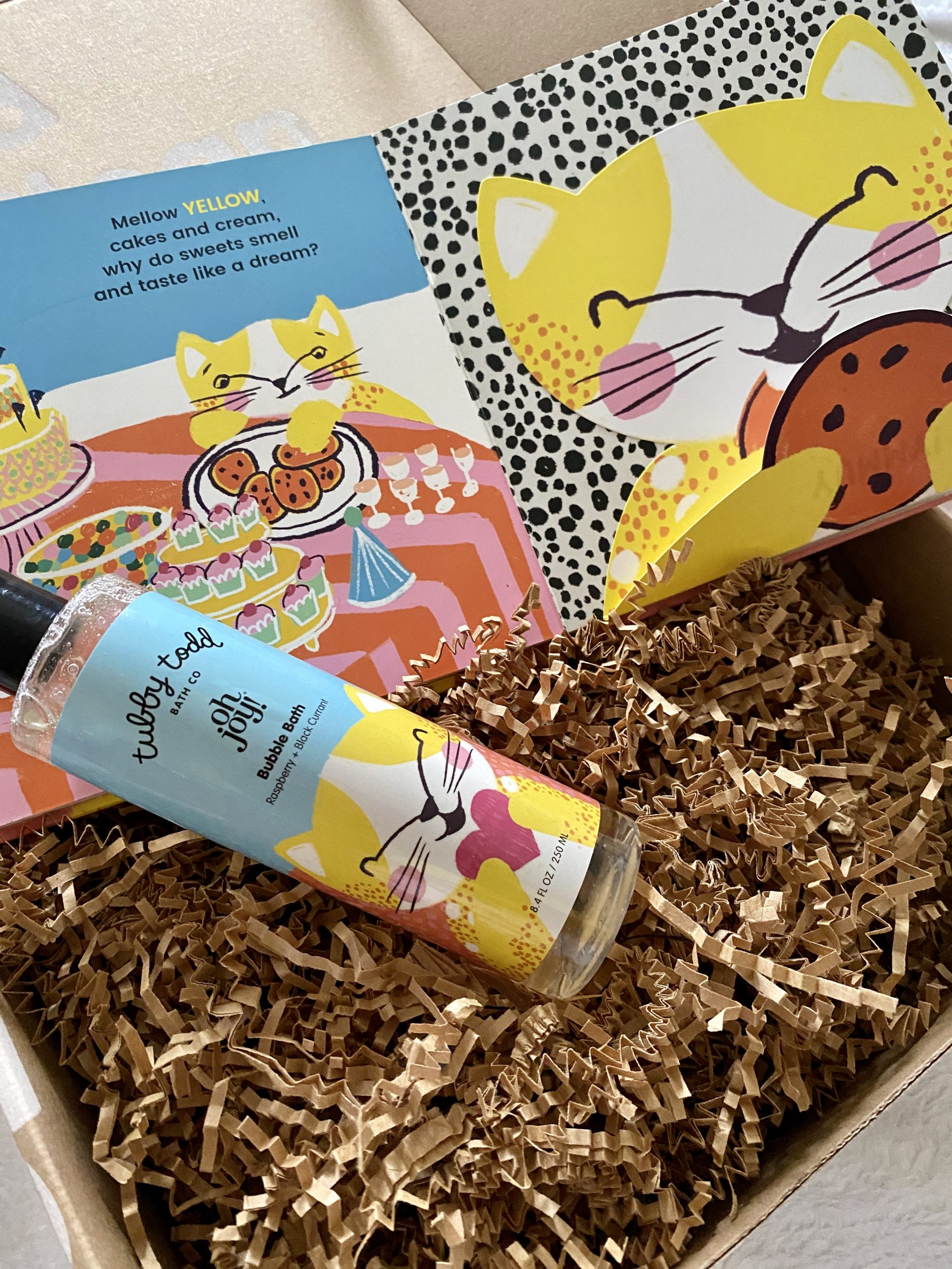 Tubby Todd Bubbles & Books Be Curious Gift Set