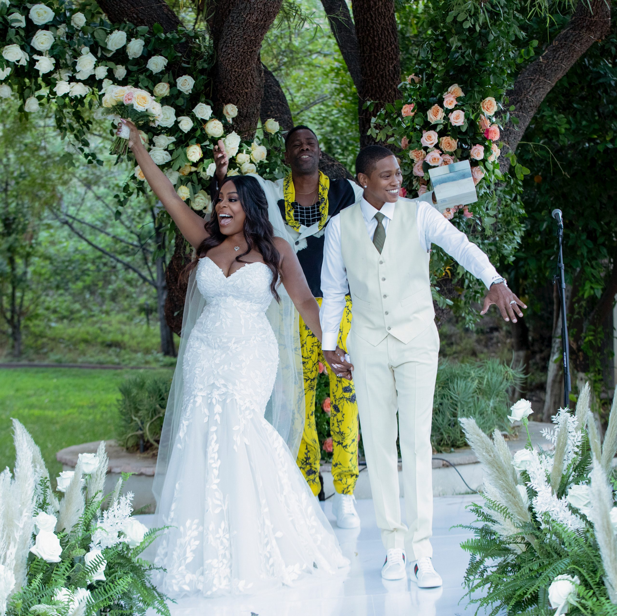 Niecy Nash Ties The Knot, What About That Wedding Dress