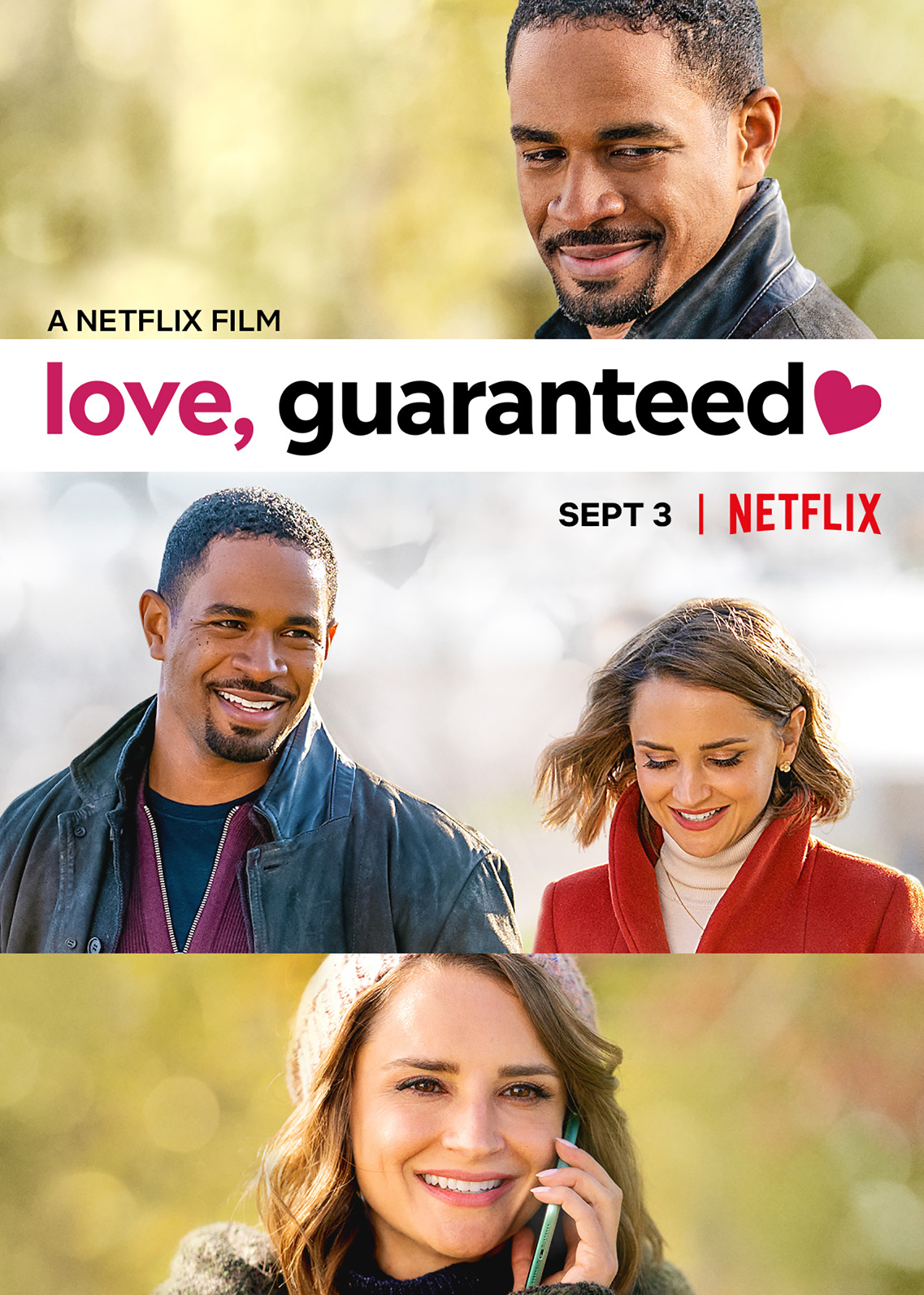 Netflix Original: Love,  Guaranteed Starring Damon Wayans Jr.