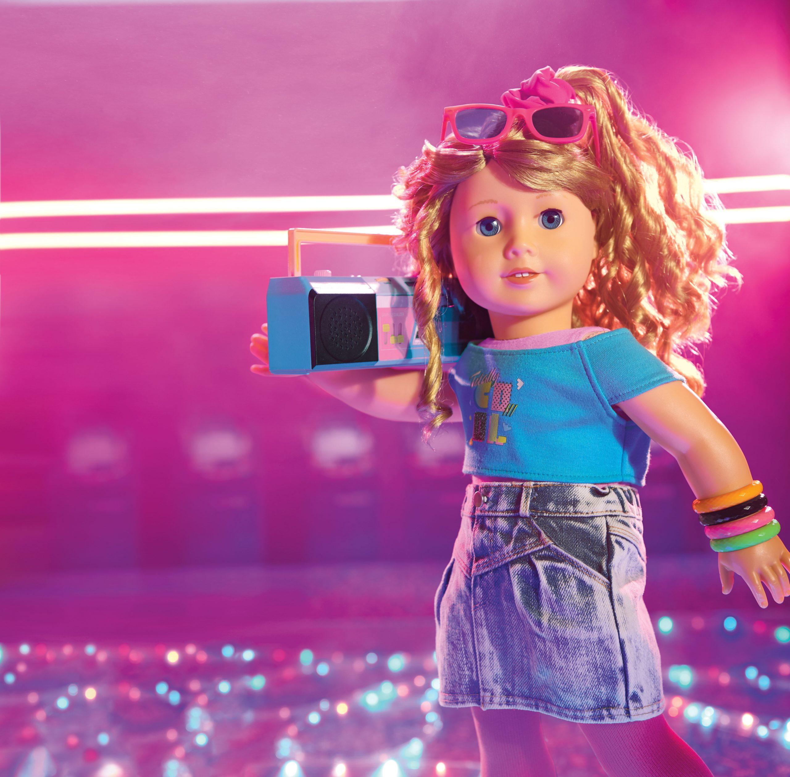 American Girl Declares The '80s Are, Like, Totally Back!