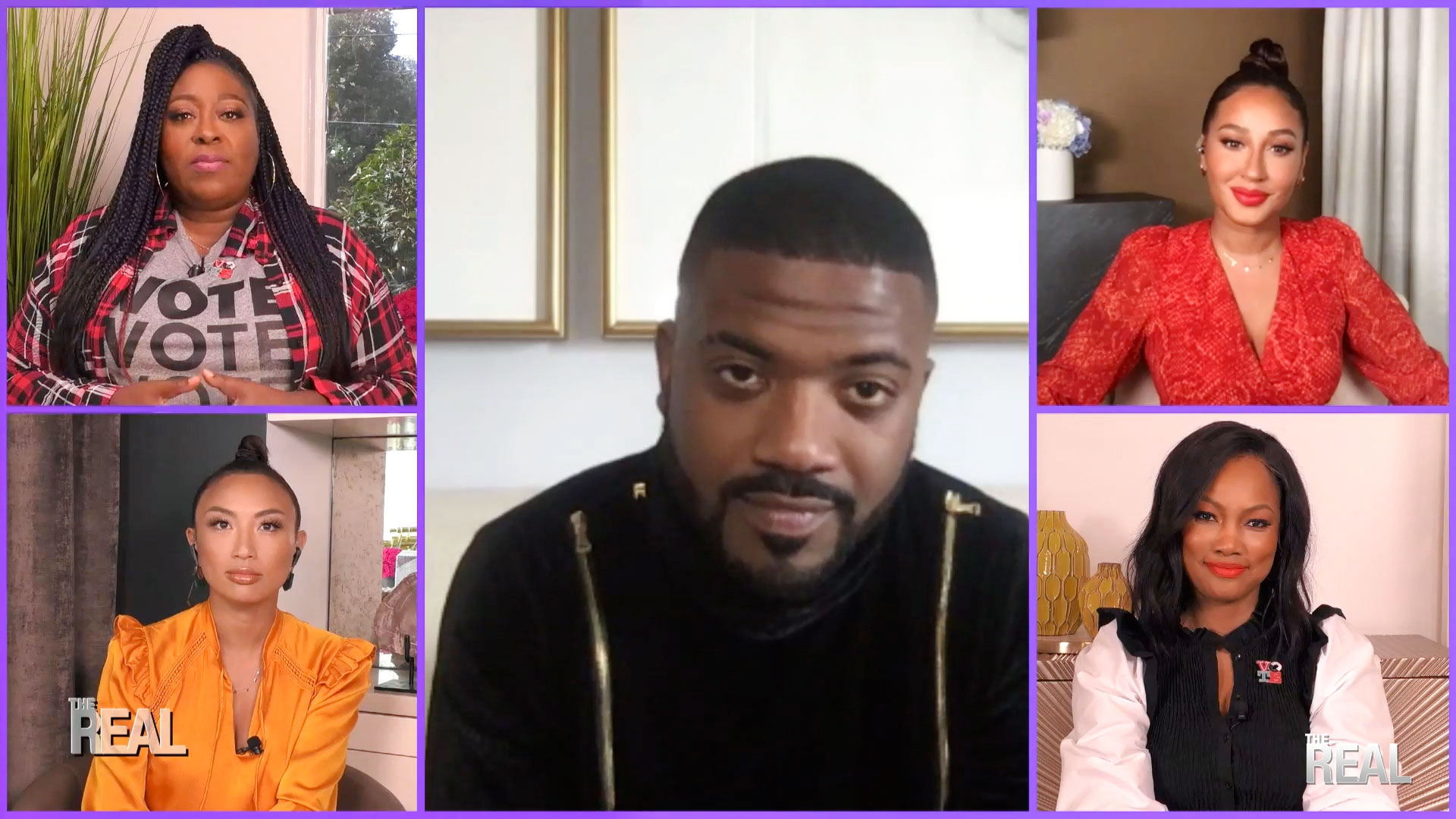 The Real: Ray J Talks Staying Together With Princess Love