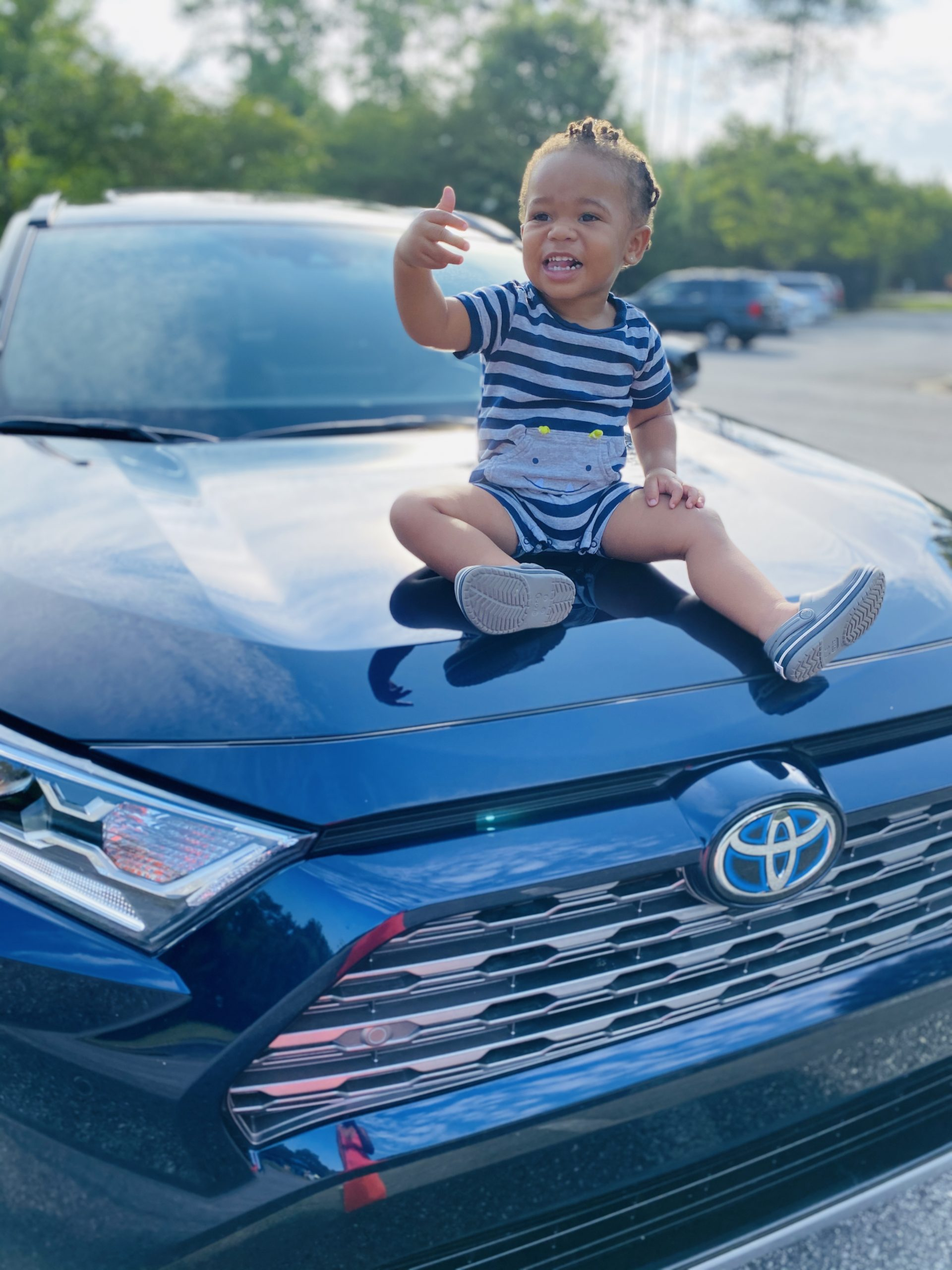 Five Things Boogy Bear Liked About The Toyota RAV4 Hybrid XSE