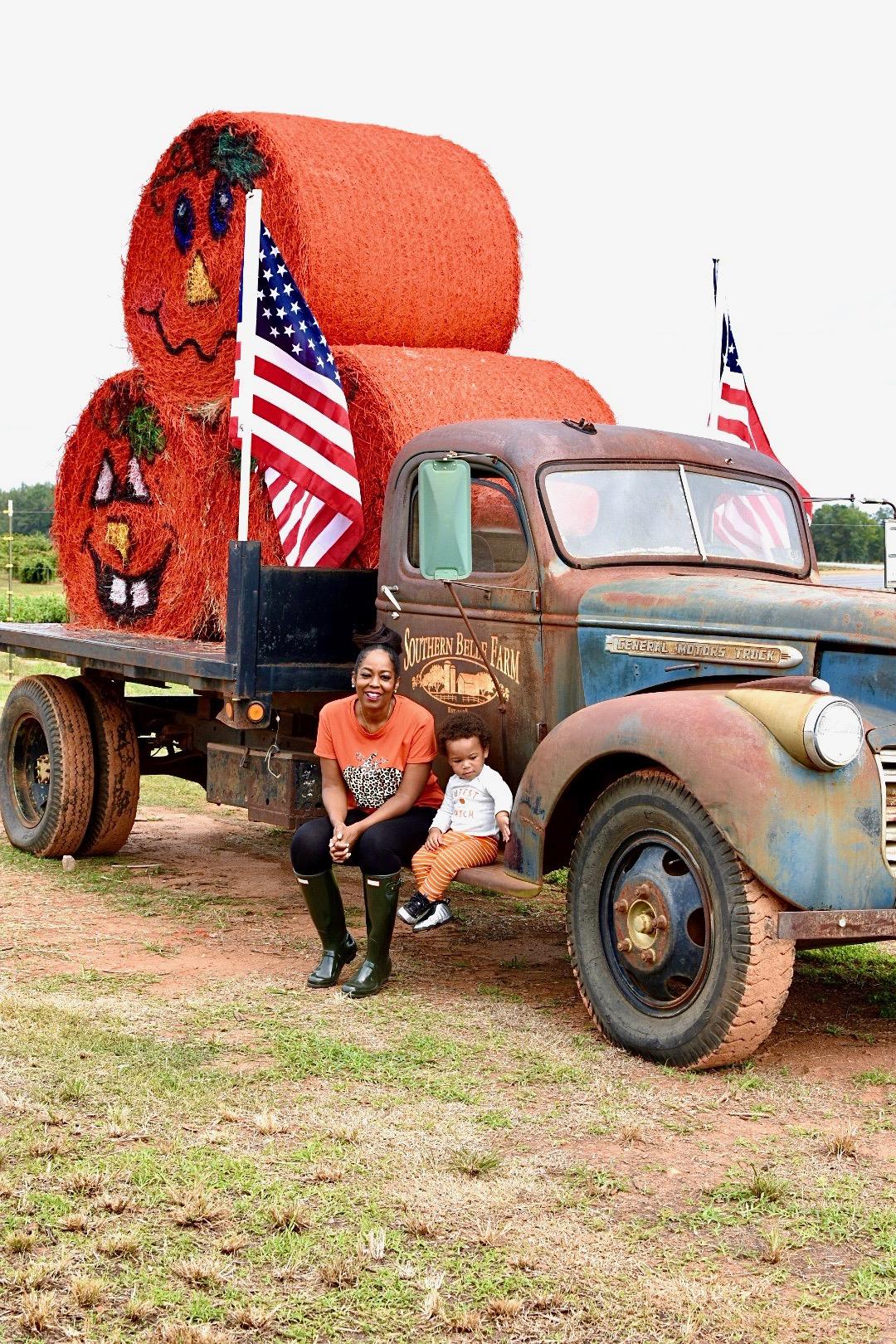 Pumpkin Picking At Southern Belle Farm