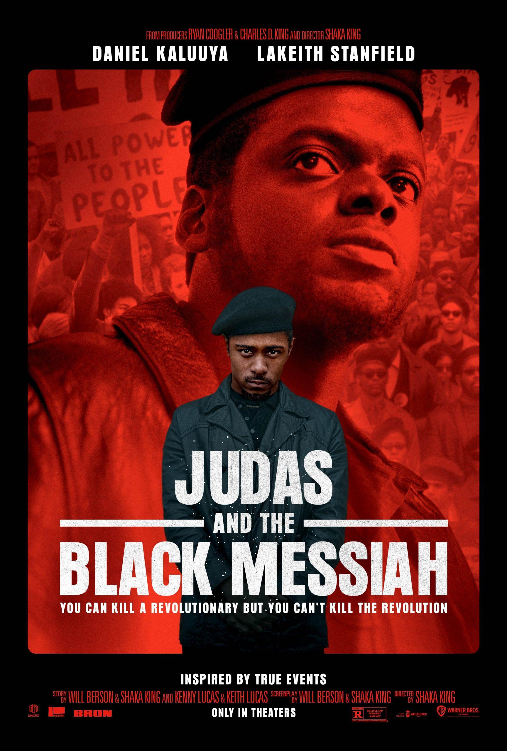 New Movie: JUDAS AND THE BLACK MESSIAH Starring Daniel Kaluuya
