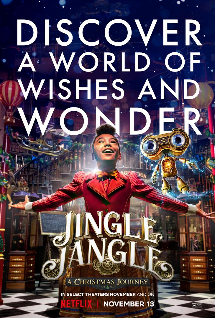 First Look: Netflix Original Jingle Jangle: A Christmas Journey